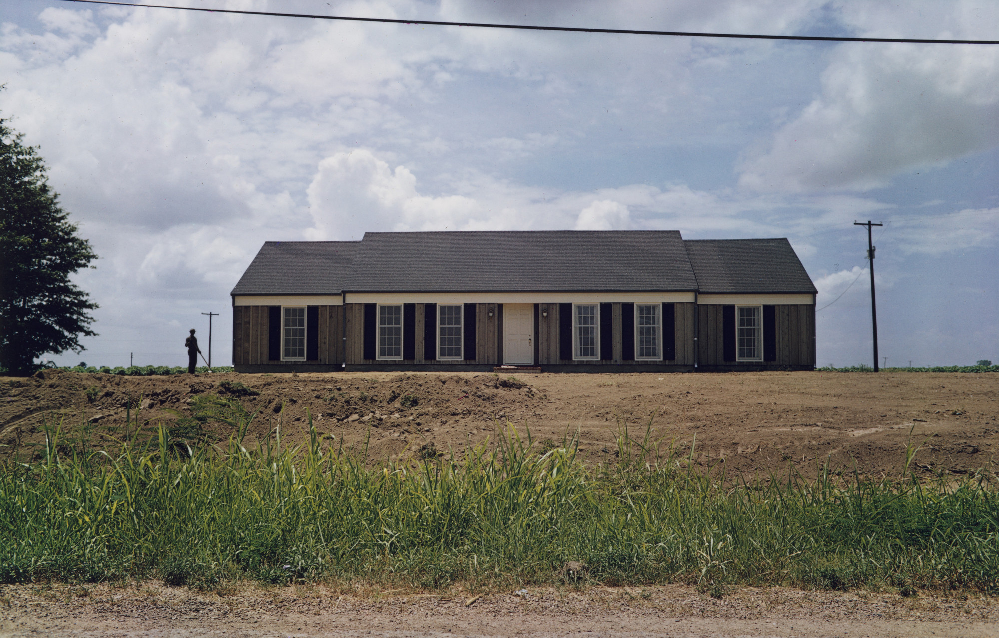 William Eggleston. Tallahatchie County, Mississippi. July, 1970