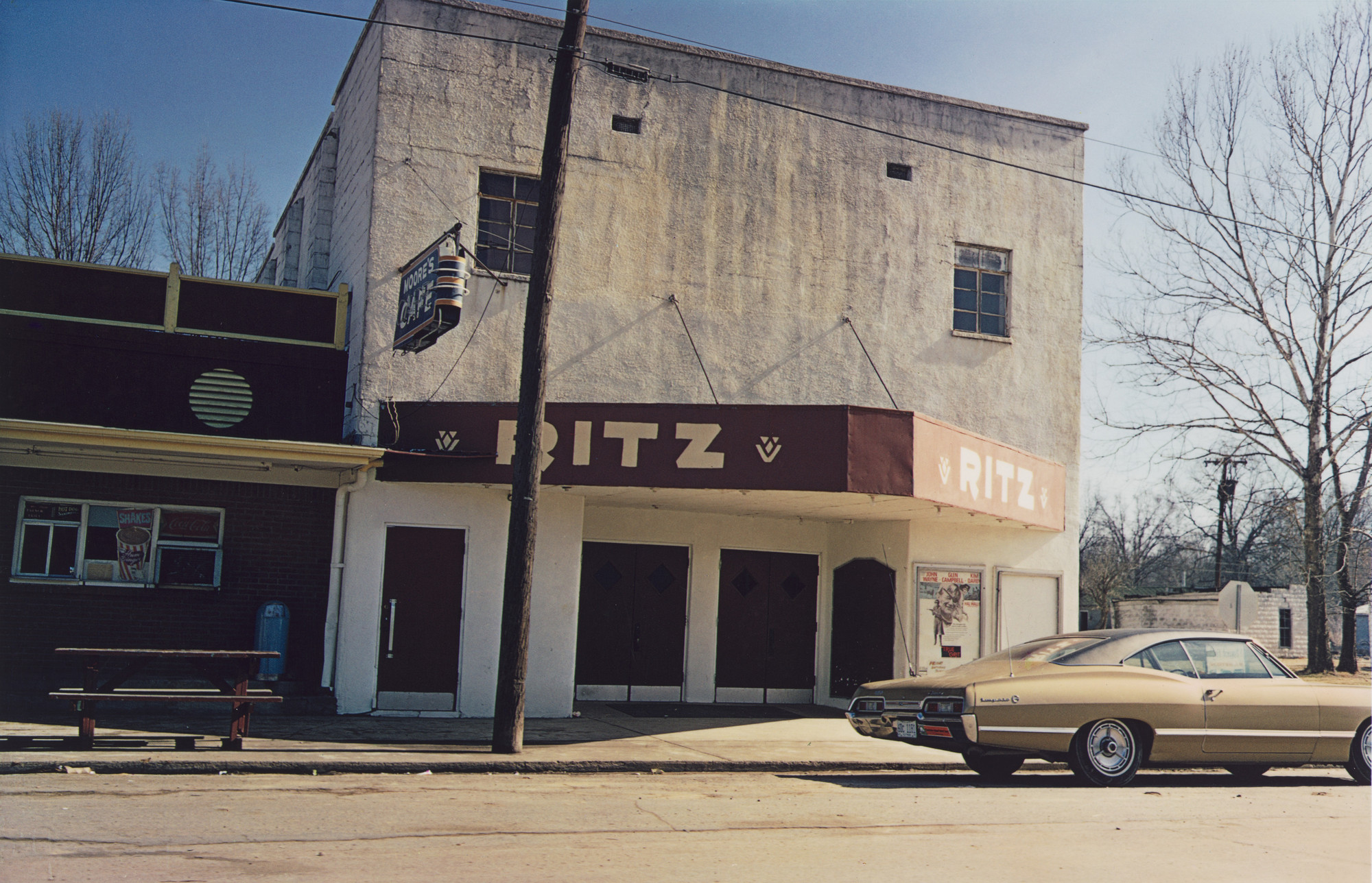 William Eggleston. Crenshaw, Mississippi. c. 1969-70