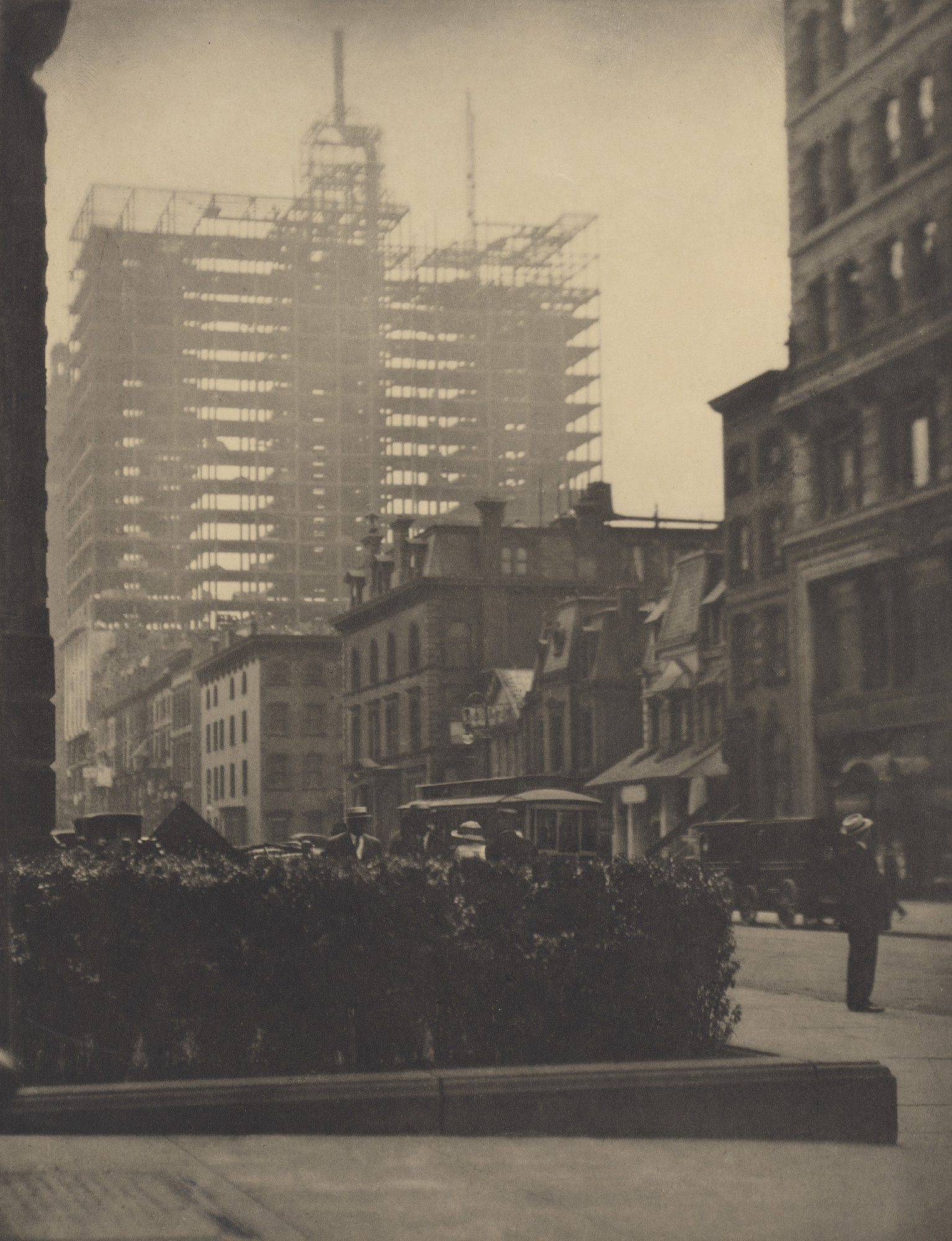 Alfred Stieglitz. Old and New New York. 1910
