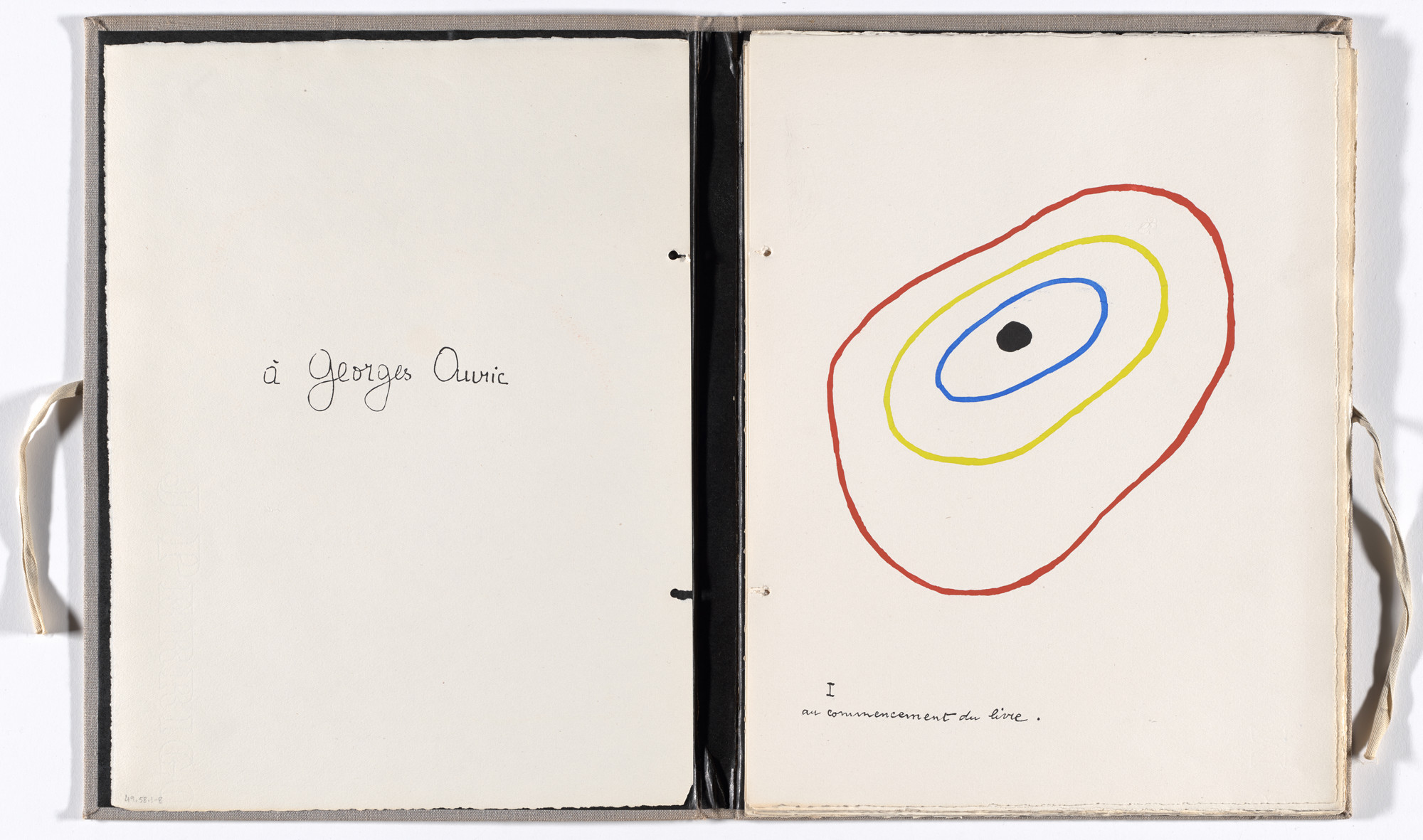 Joan Miró. Plate (folio 2) from Il était une petite pie (Once There Was a Little Magpie). 1927–28, published 1928