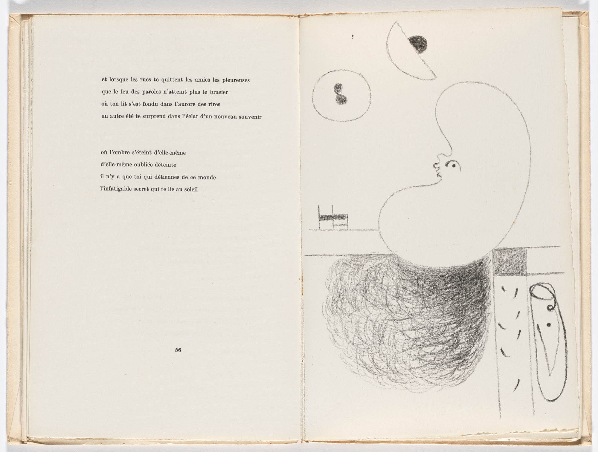 Joan Miró. Plate (facing page 56) from L'Arbre des voyageurs (The Tree of Travelers). 1929, published 1930
