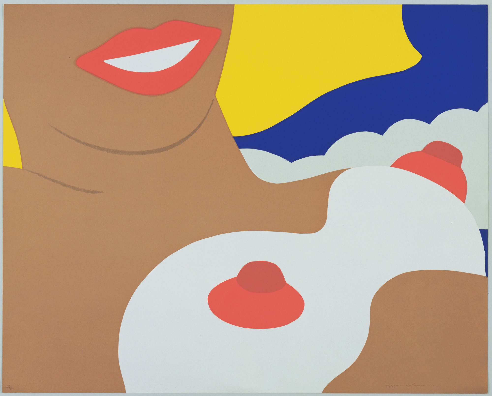Tom Wesselmann. Nude from 11 Pop Artists, Volume II. 1965, published 1966