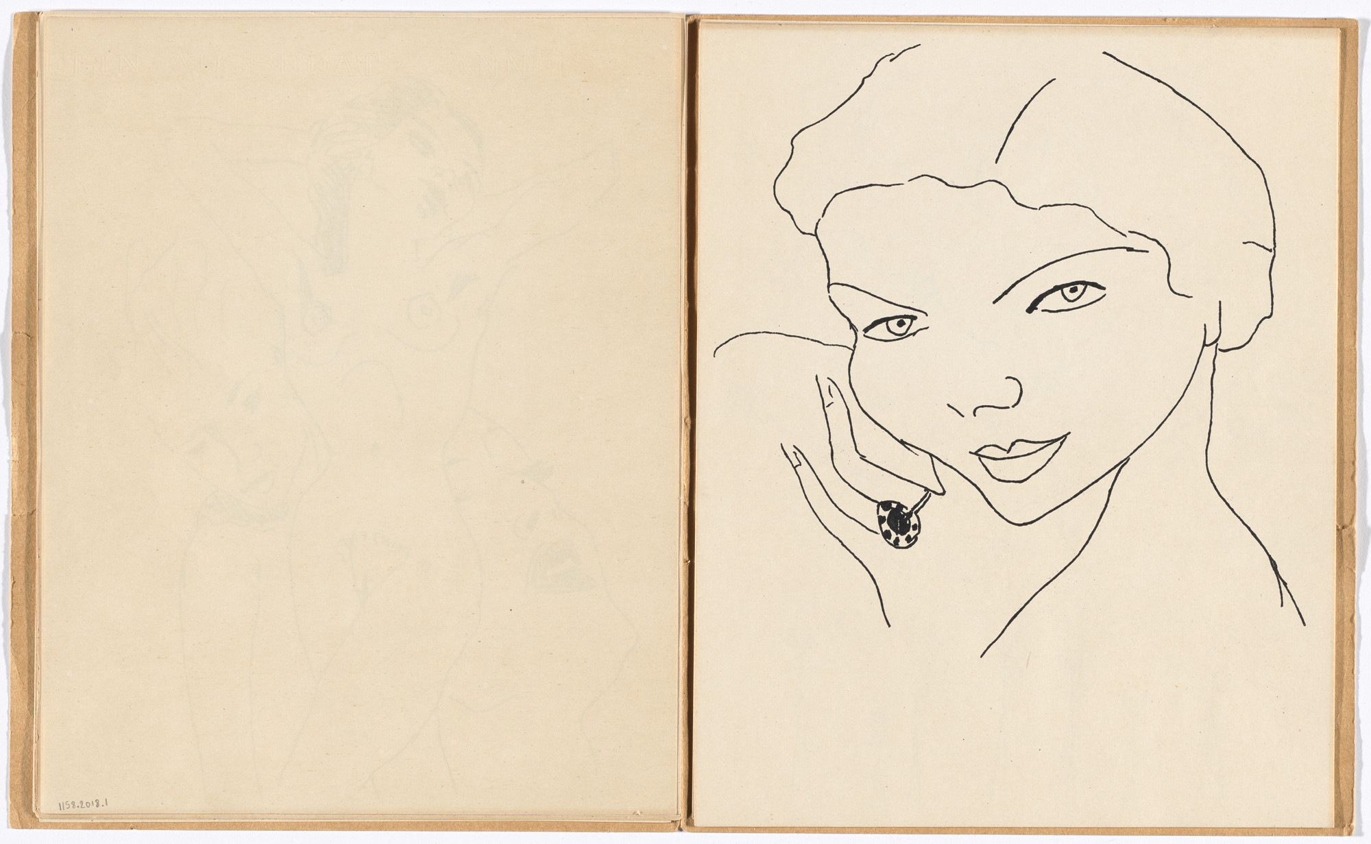 Francis Picabia. Plate (folio 9) from 591. 1952