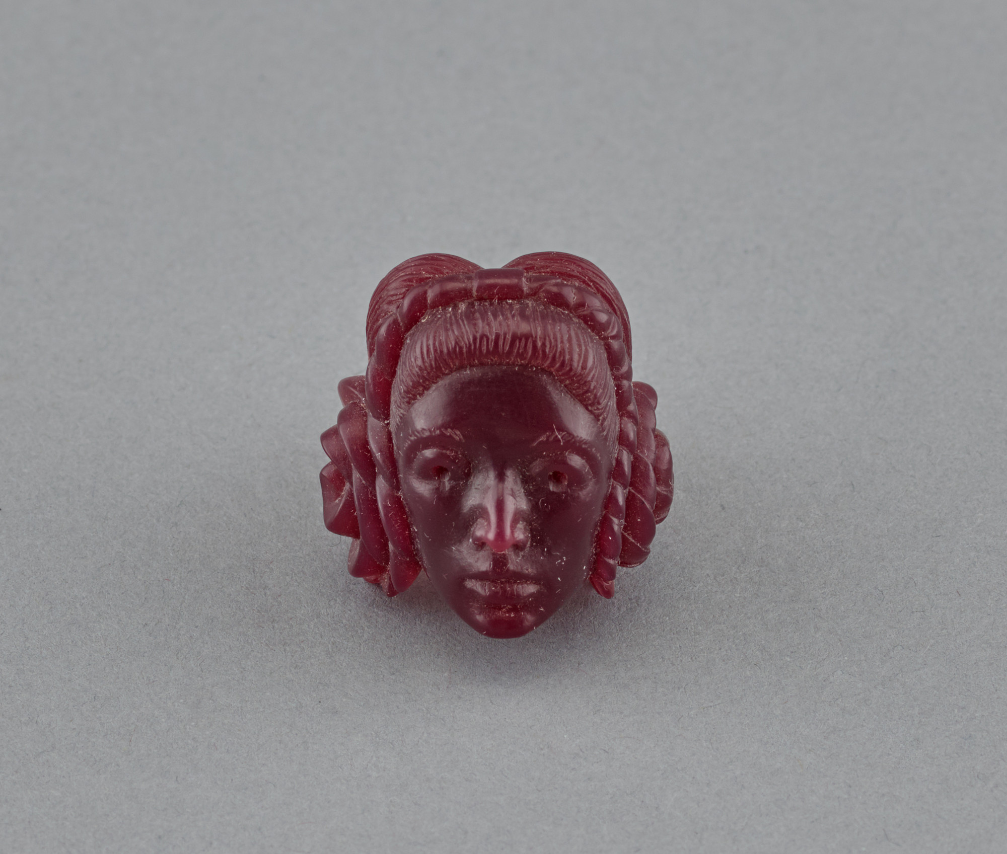 Marisol (Marisol Escobar). Original wax prototype for Self-portrait ring. 1967