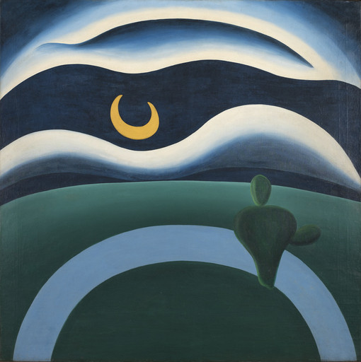 Tarsila do Amaral. The Moon. 1928