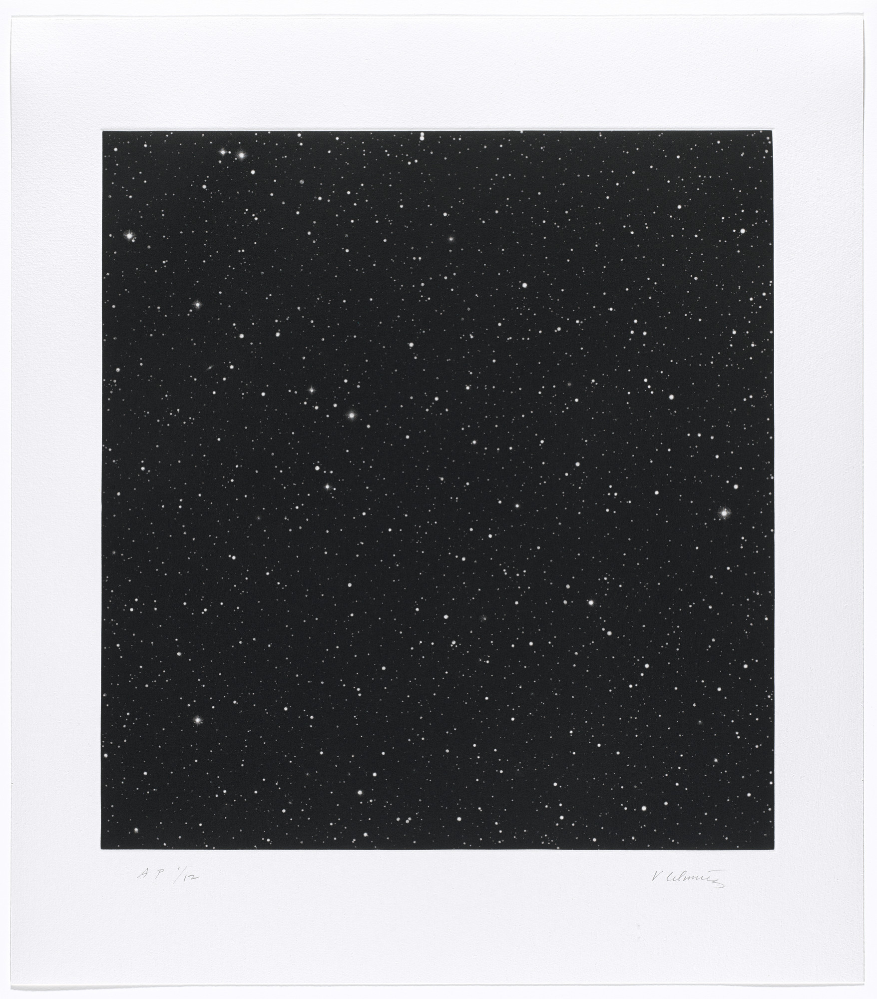 Vija Celmins. Untitled #1. 2016