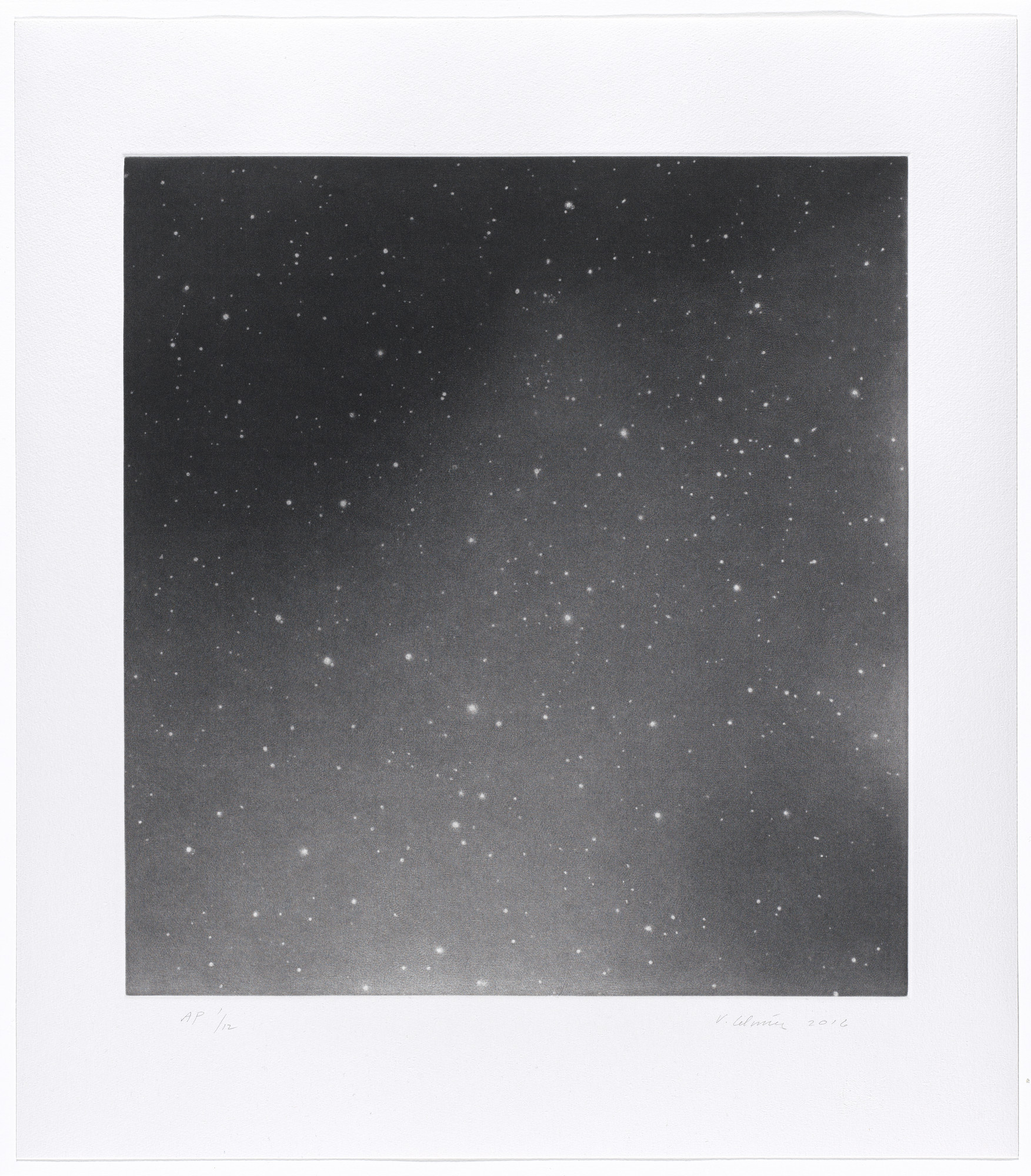Vija Celmins. Untitled #2. 2016