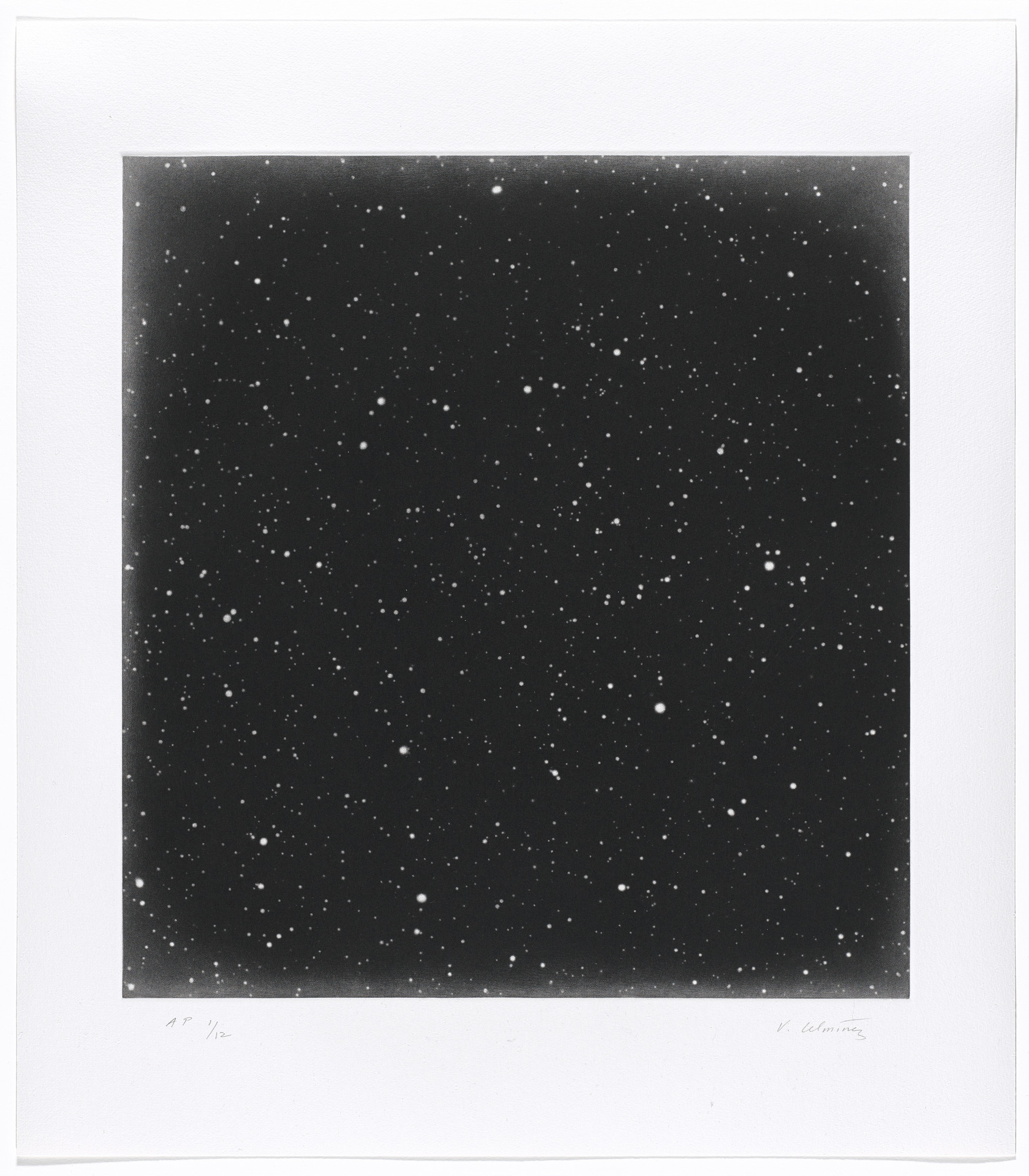 Vija Celmins. Untitled #3. 2016