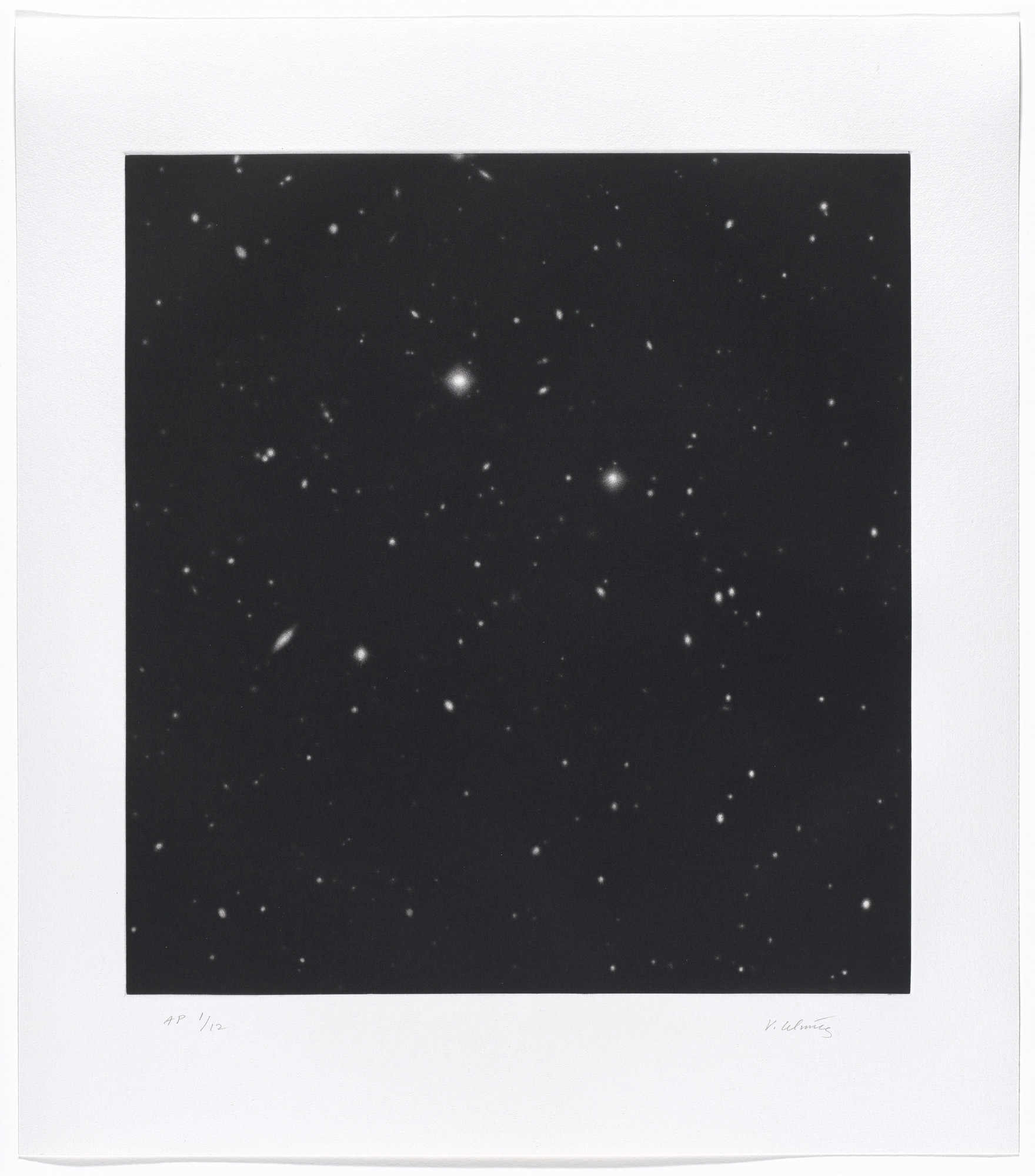 Vija Celmins. Untitled #4. 2016