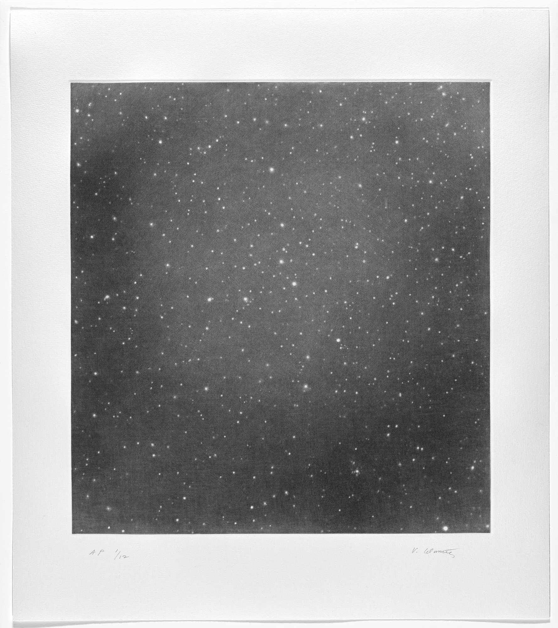 Vija Celmins. Untitled #5. 2016