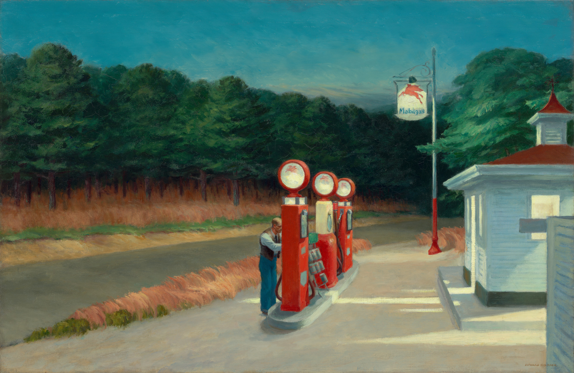 Edward Hopper. Gas. 1940