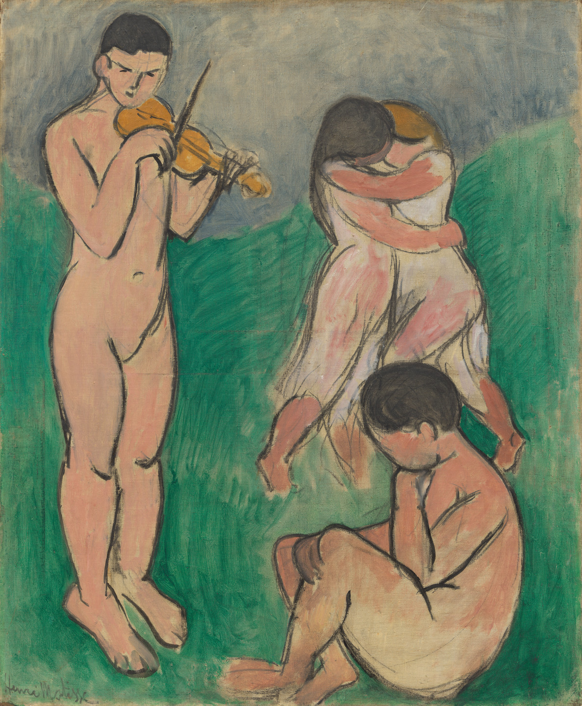 Henri Matisse. Music (Sketch). Collioure, spring-summer 1907