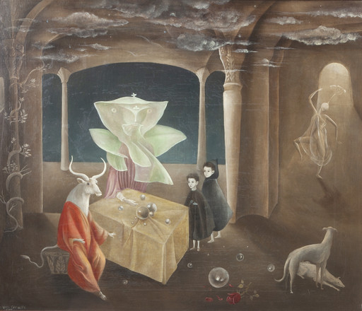 Leonora Carrington. And Then We Saw the Daughter of the Minotaur. 1953