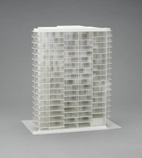 Frédéric Druot, Anne Lacaton, Jean Philippe Vassal. Tour Bois-le-Prêtre, Paris, France (Model after transformation). 2008