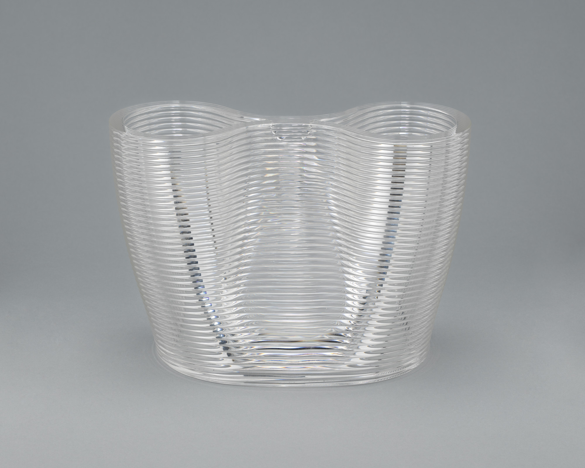 "Neri Oxman, Mediated Matter Group, Massachusetts Institute of Technology, Cambridge, MA. Glass II section - ""MoMA 2"" Part 1. 2017–2018"