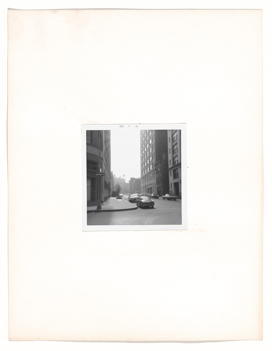"Vito Acconci. Walk: ""First Sight"". 1969"