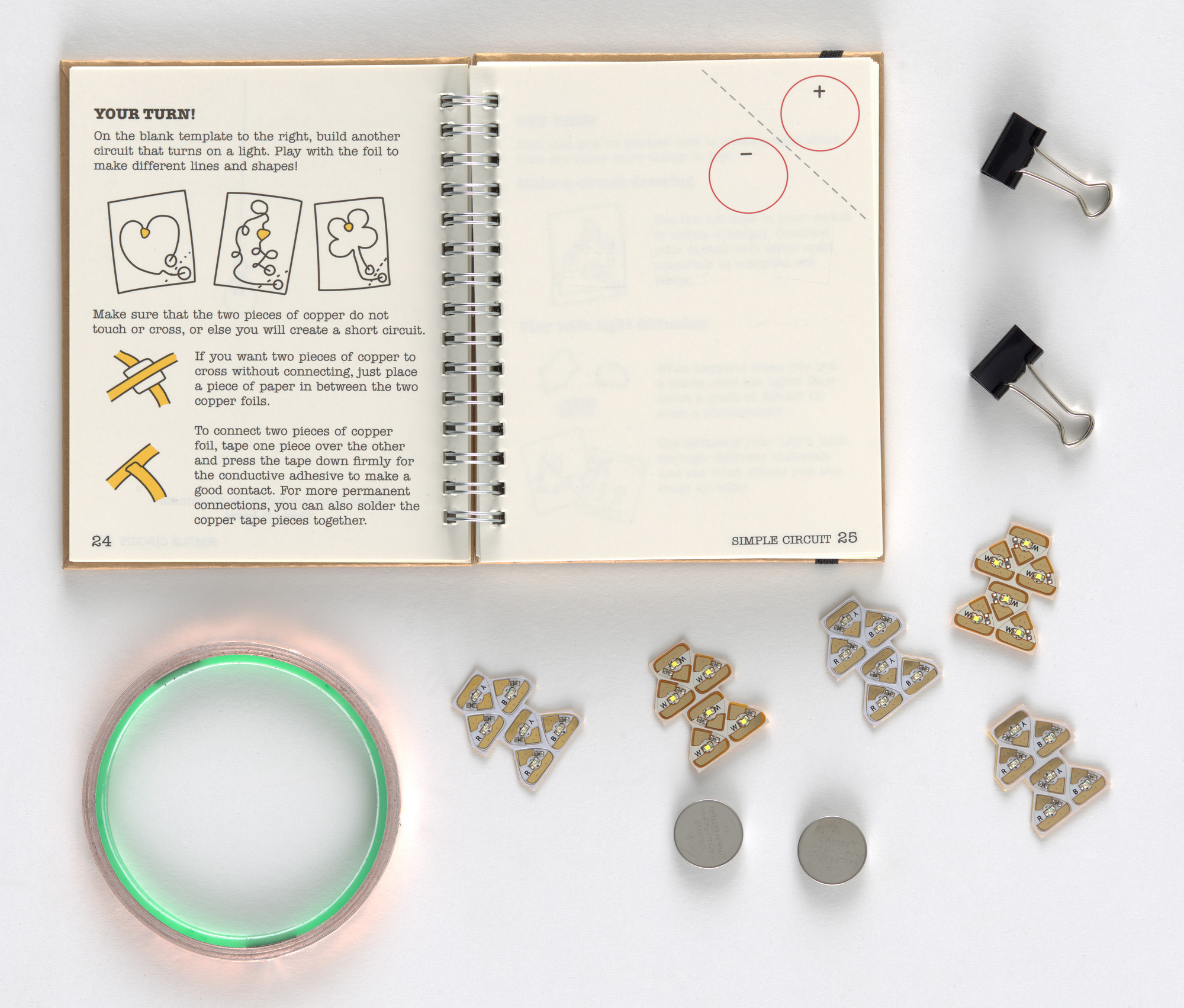 "Jie Qi, Andrew ""Bunnie"" Huang. Circuit Stickers (Starter Kit). 2014"
