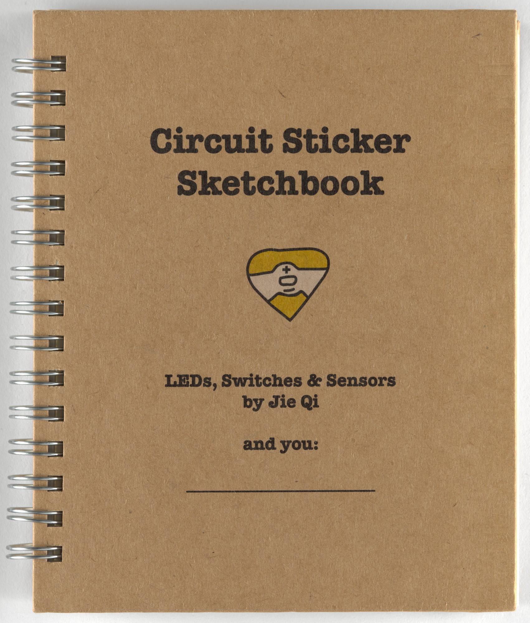 "Jie Qi, Andrew ""Bunnie"" Huang. Circuit Stickers (Sketchbook). 2014"
