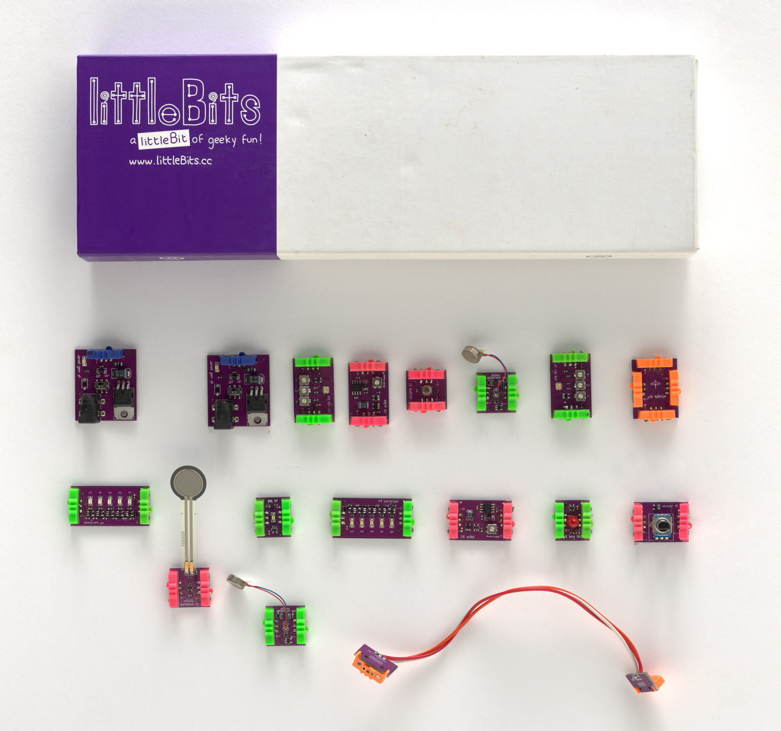 Ayah Bdeir. littleBits. 2008