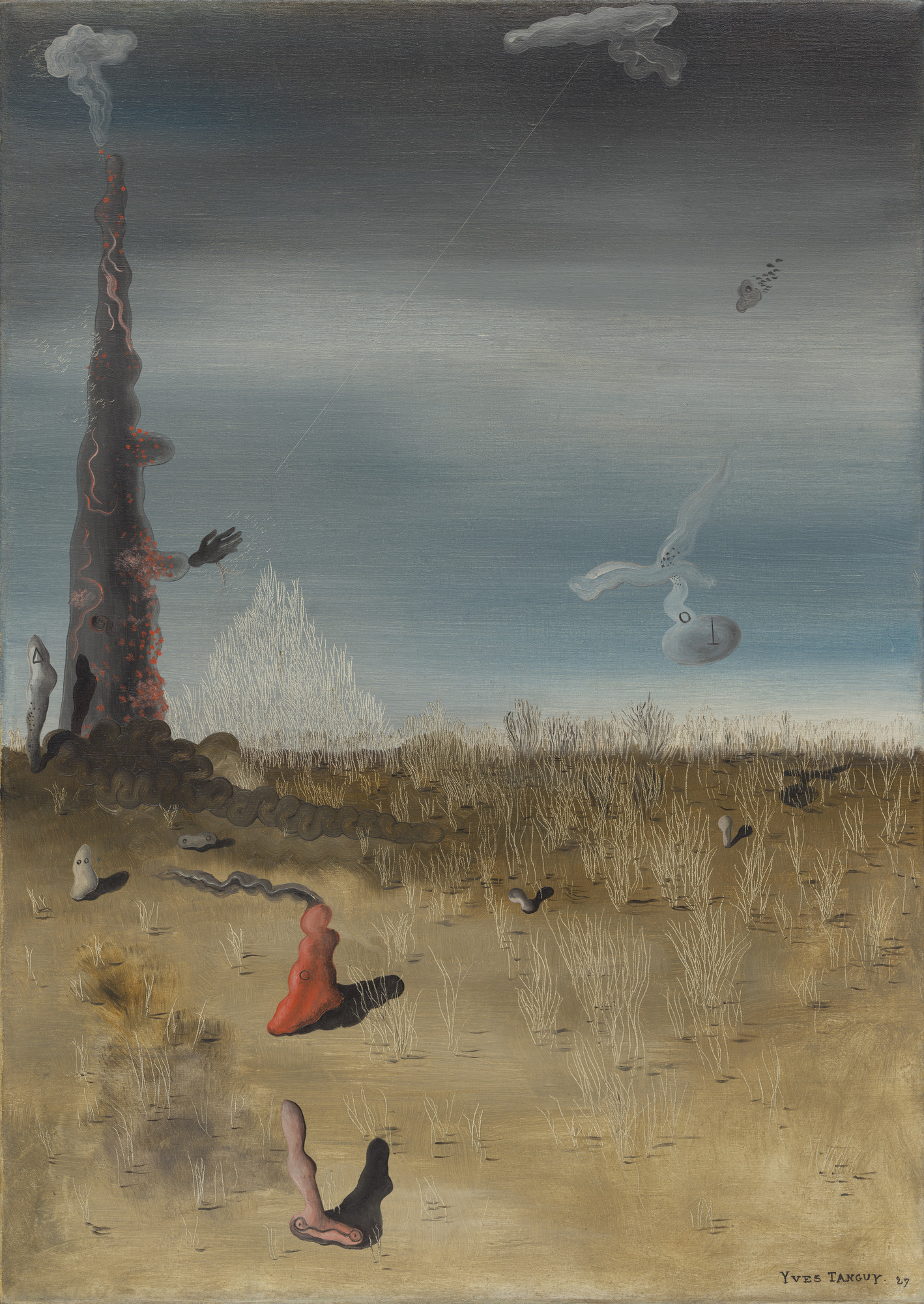 Yves Tanguy. Extinction of Useless Lights. 1927