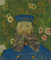 Vincent van Gogh. Portrait of Joseph Roulin. Arles, early 1889
