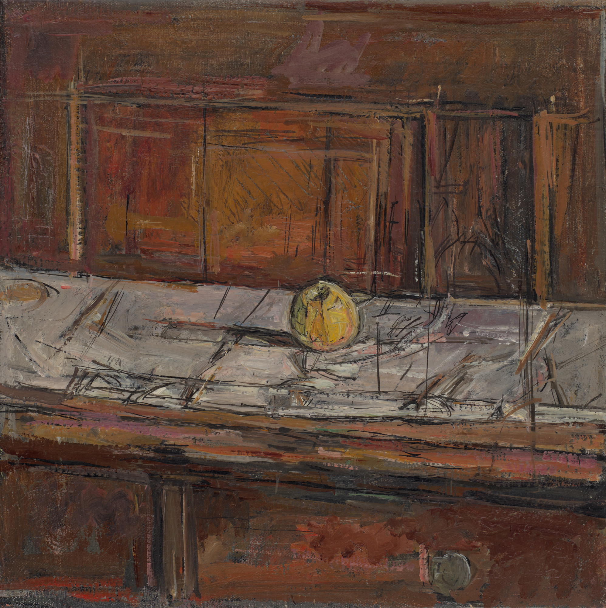 Alberto Giacometti. Apple on the Sideboard. 1937