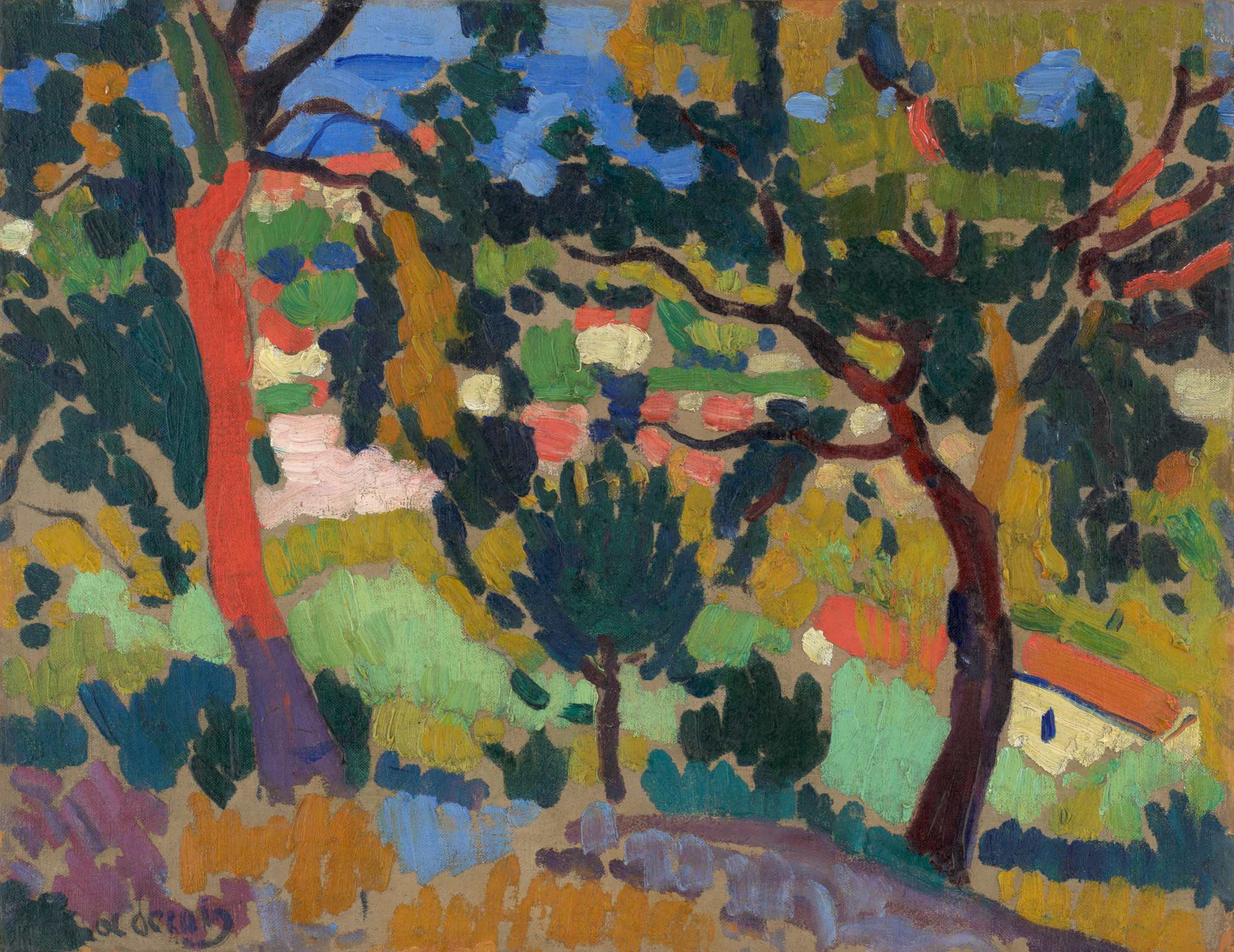 André Derain. L'Estaque. 1906