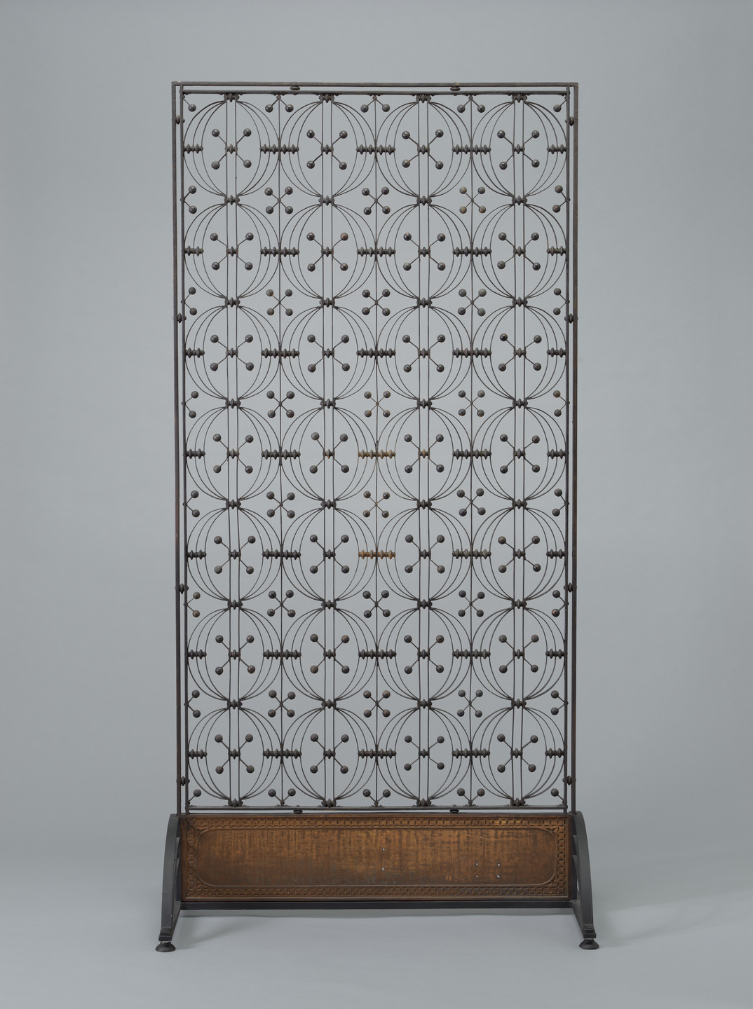 Louis Sullivan. Elevator Grille from the Chicago Stock Exchange, Chicago, IL. 1893