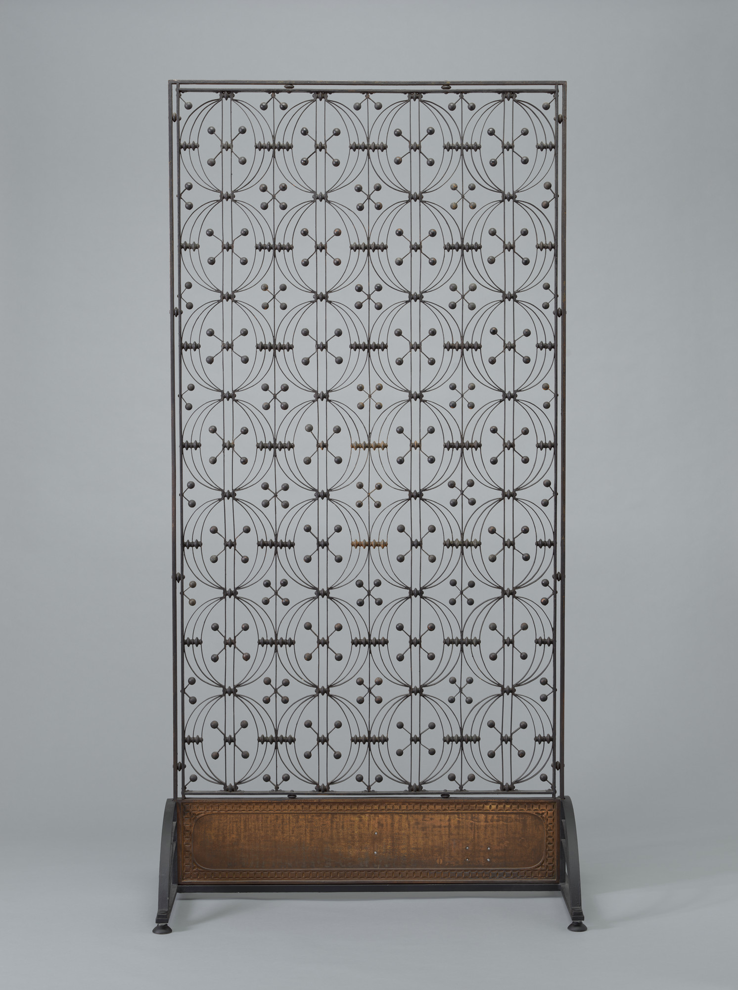 Louis Sullivan. Elevator Grille from the Chicago Stock Exchange, Chicago, Illinois. 1893