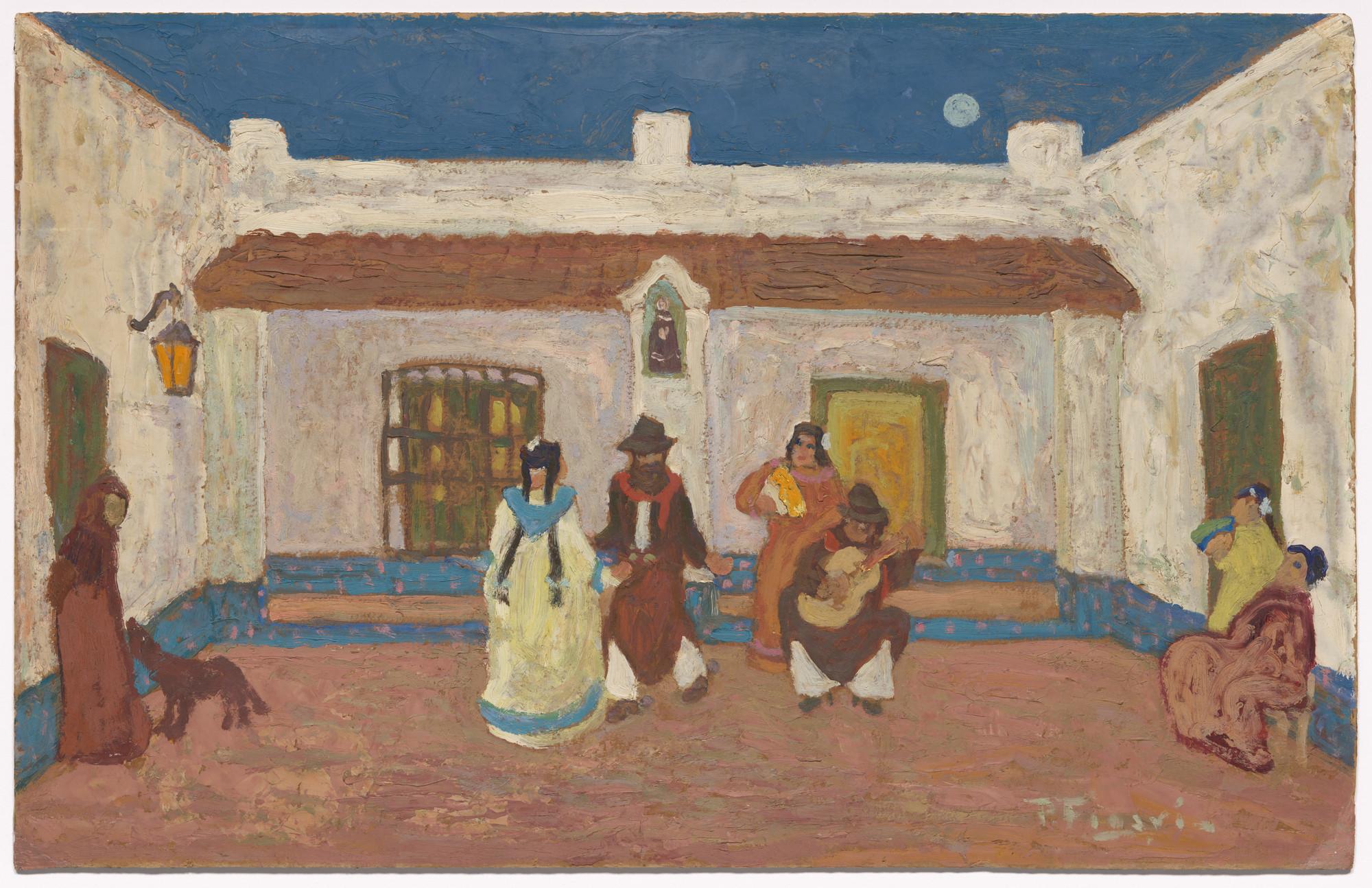 Pedro Figari. Creole Dance. c. 1925 | MoMA