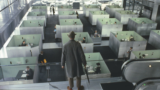 "Jacques Tati. Excerpt from ""Playtime"". 1967"