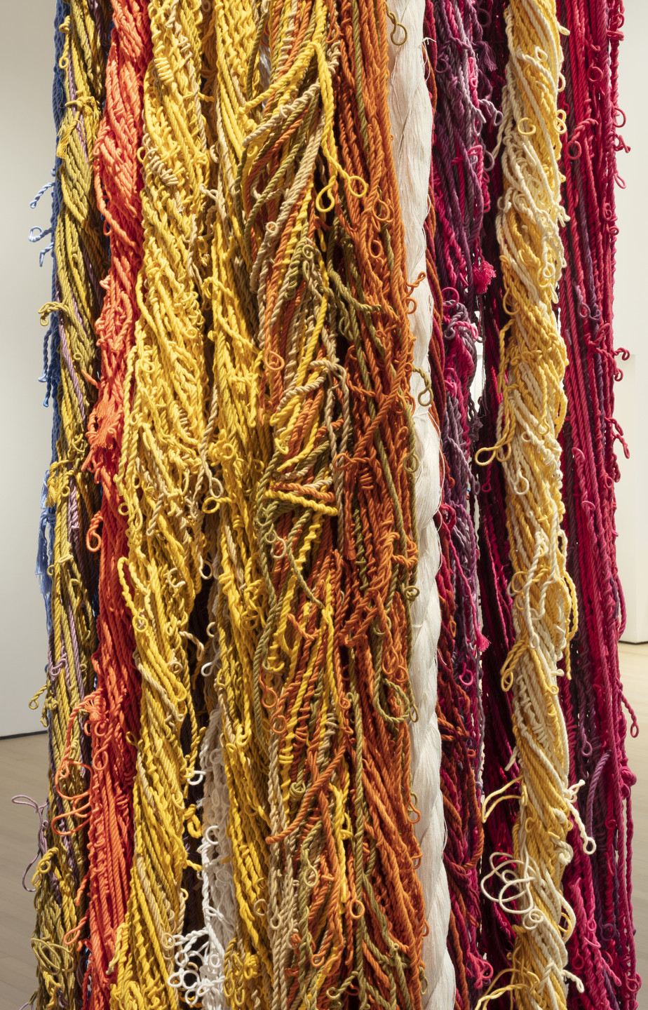 Sheila Hicks. Pillar of Inquiry/Supple Column. 2013–2014