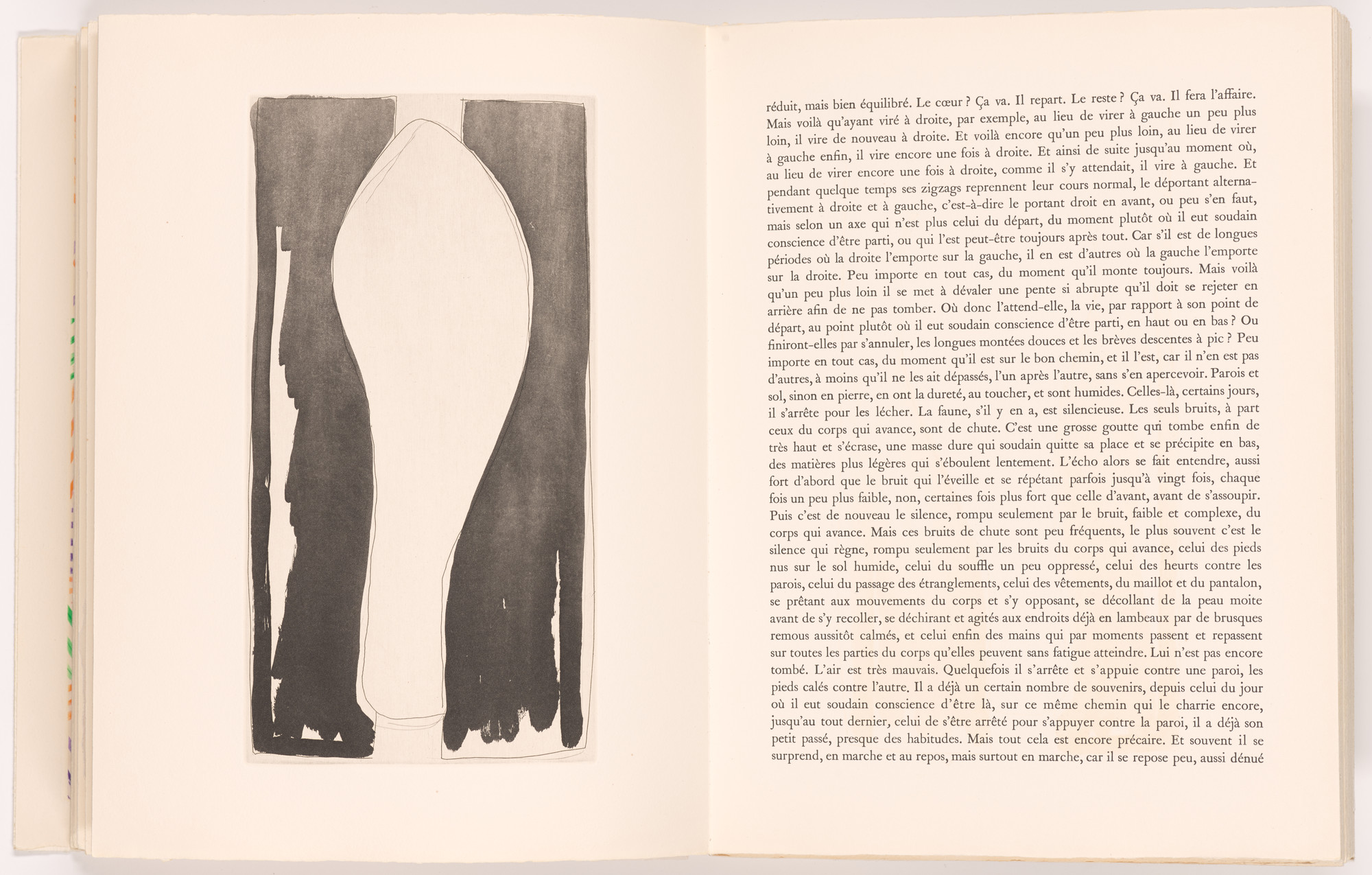 Jasper Johns. Leg (b) (plate, folio 8 verso) from Foirades/Fizzles. 1975–76, published 1976