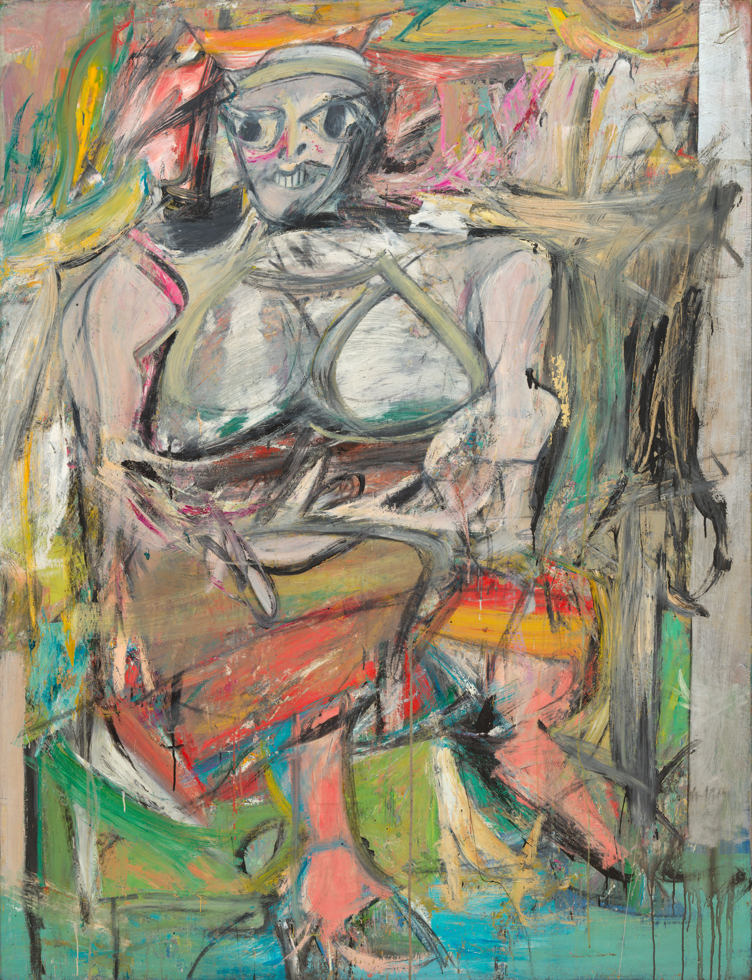 Willem de Kooning. Woman I. 1950–52