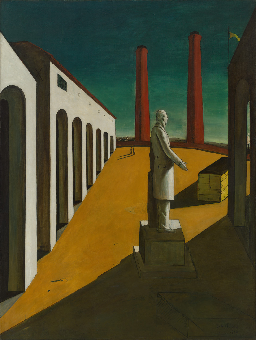 Giorgio de Chirico. The Enigma of a Day. Paris, early 1914
