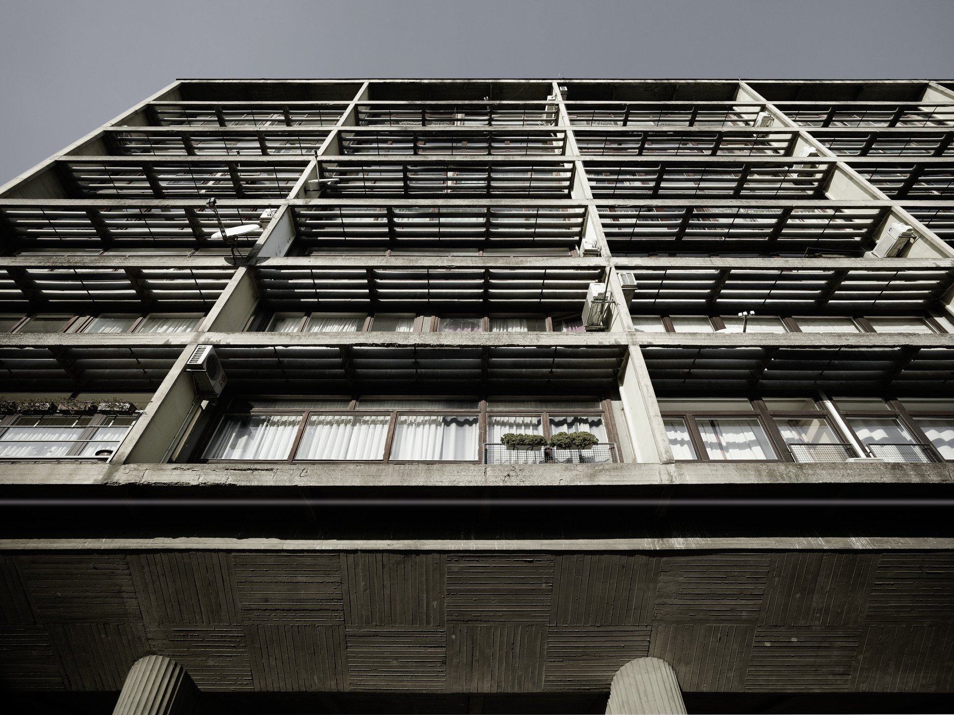 Valentin Jeck, Drago Galić. Apartment Building of the Military Directorate, Zagreb, Croatia. 2016