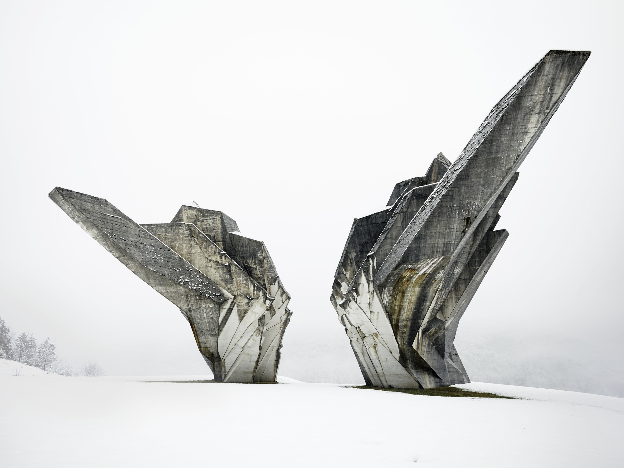 Valentin Jeck, Miodrag Živković. Monument to the Battle of the Sutjeska, Tjentište, Bosnia and Herzegovina (View of the monument, 2016). 2017