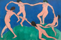 Henri Matisse. Dance (I). Paris, Boulevard des Invalides, early 1909