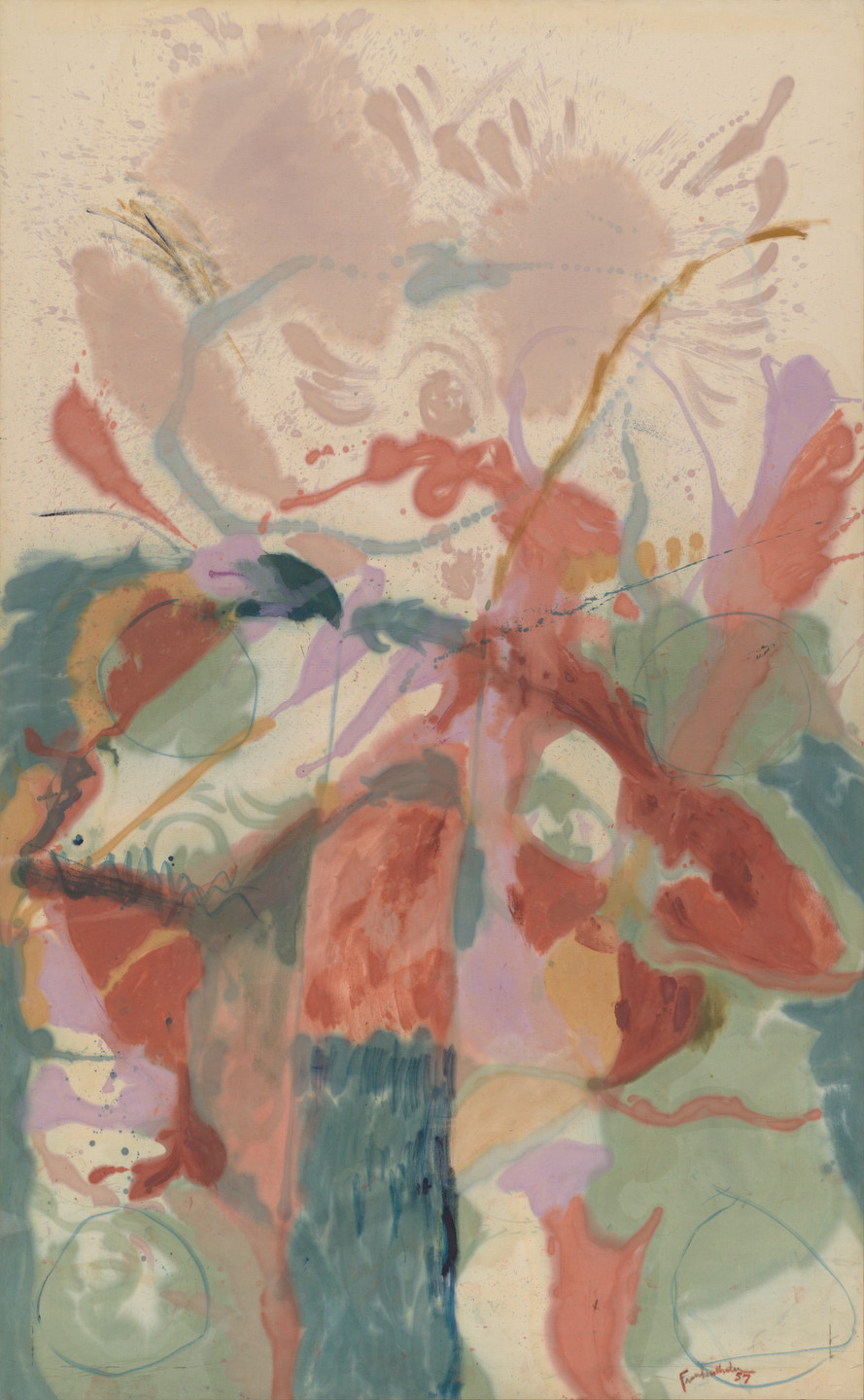 Helen Frankenthaler. Jacob's Ladder. 1957