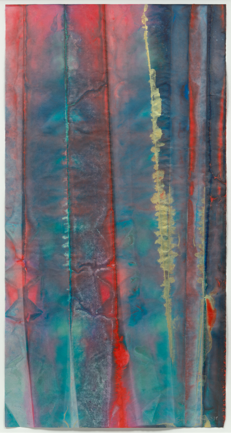 Sam Gilliam. Untitled. 2019