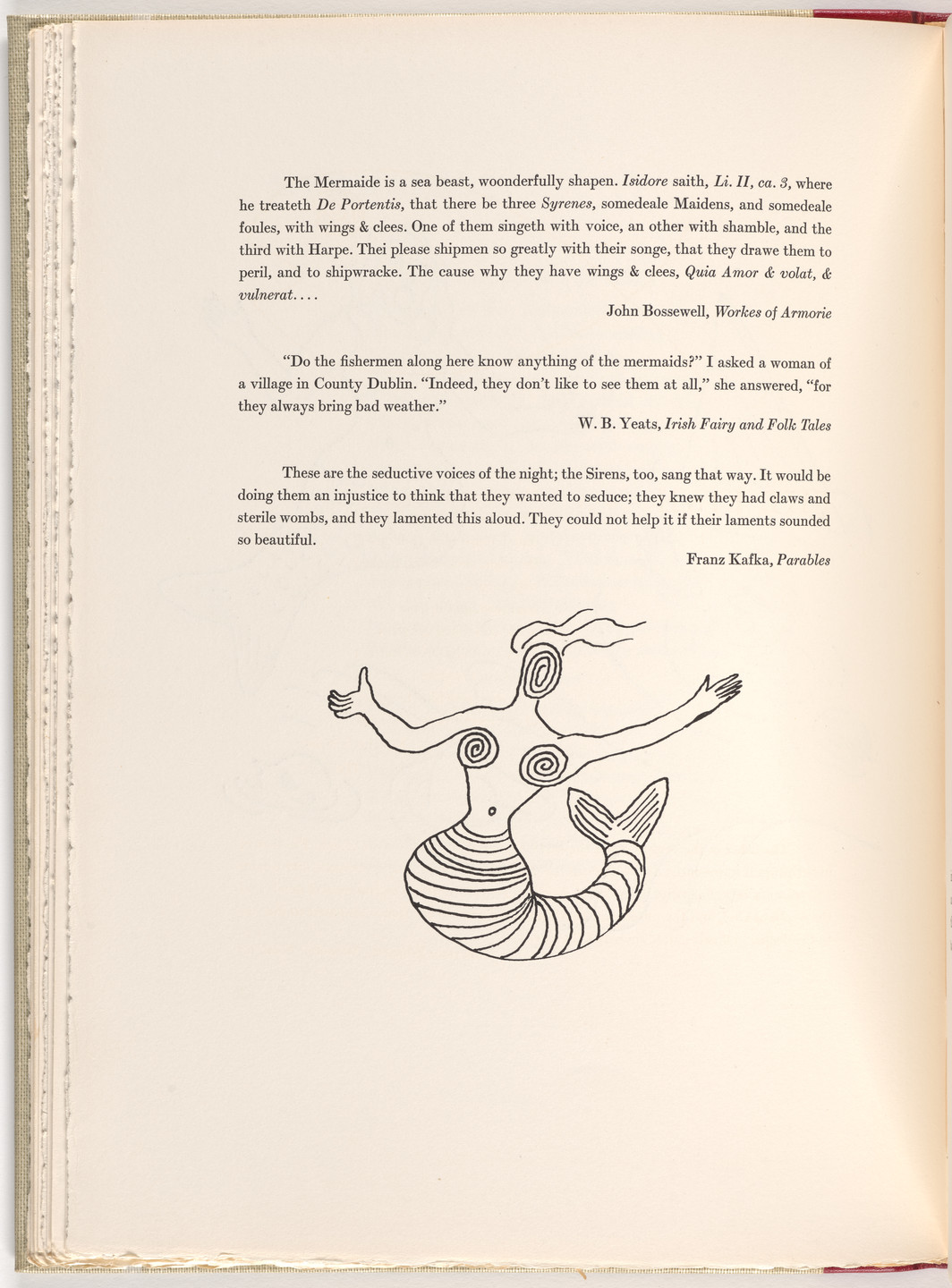 Alexander Calder. Tailpiece (page 26) from A Bestiary. 1955