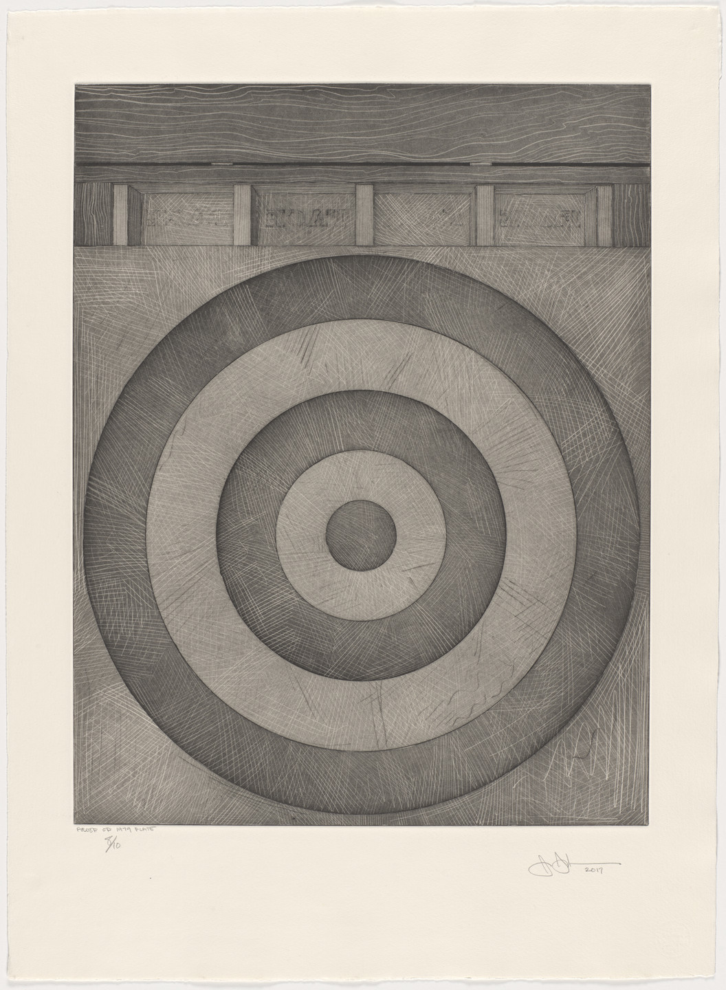 Jasper Johns. Target with Four Faces. 2017
