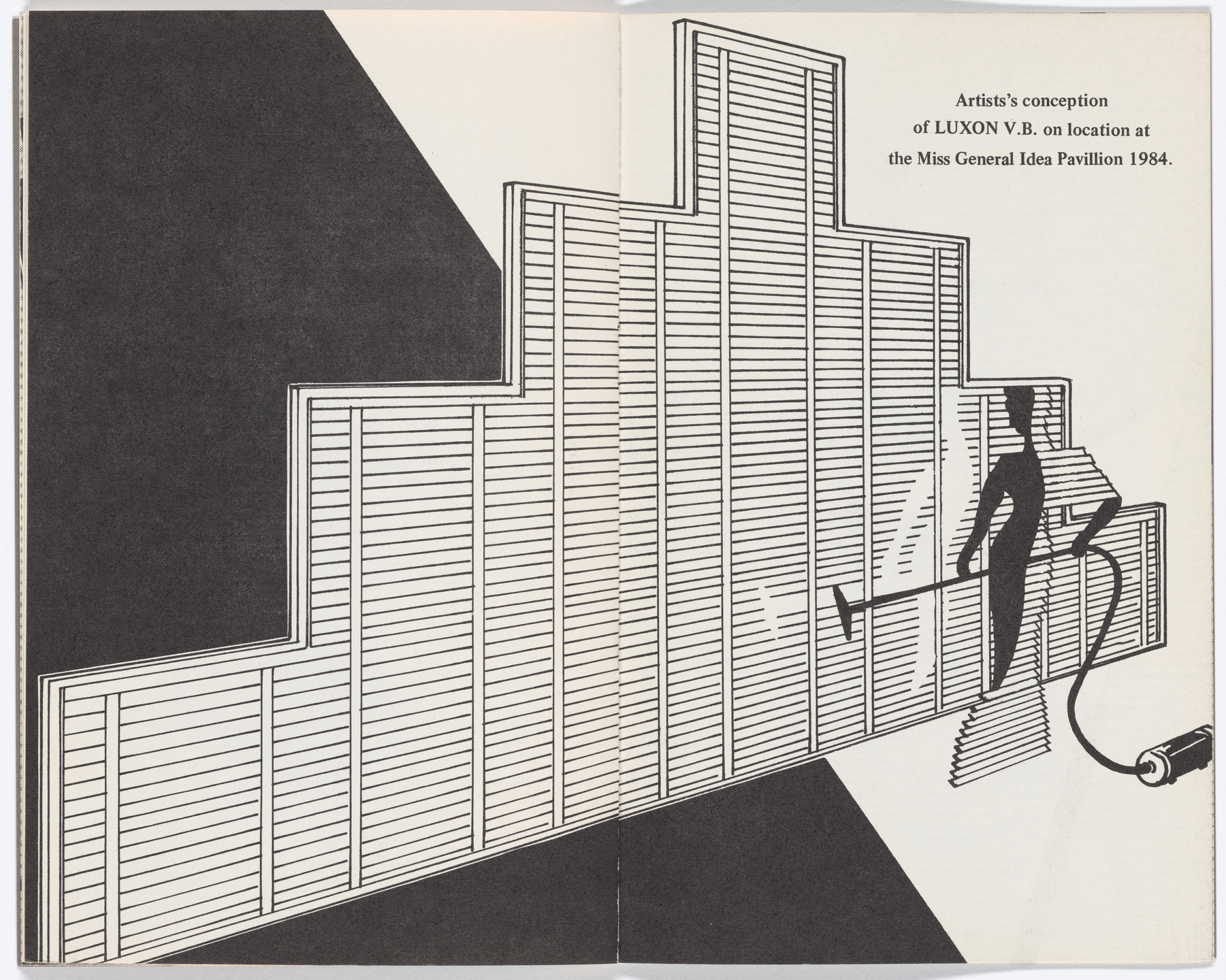 General Idea. Luxon V.B.: The 1984 Miss General Idea Pavillion No. 101. 1973