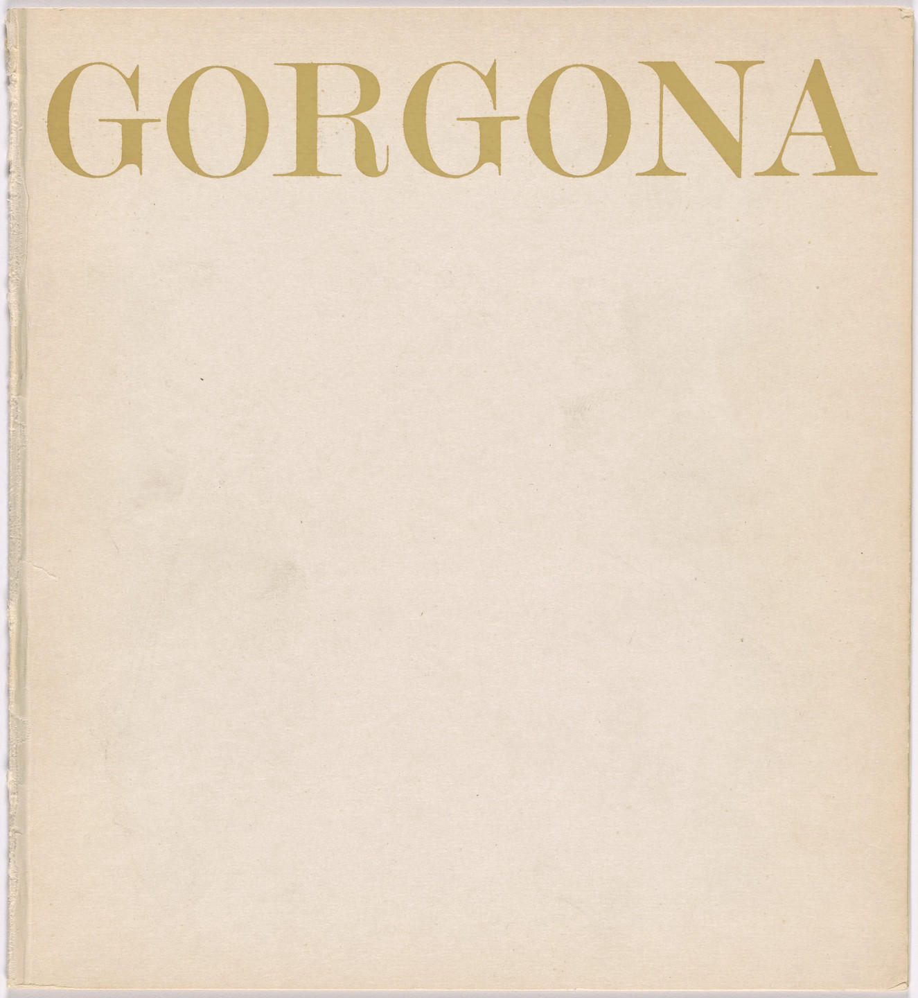 Gorgona artists group. Gorgona n. 8. 1965