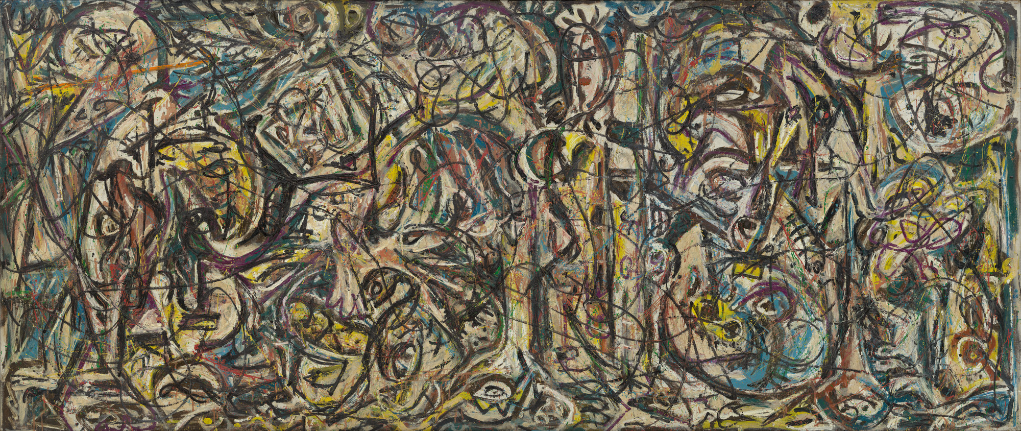 Jackson Pollock. There Were Seven in Eight. c. 1945