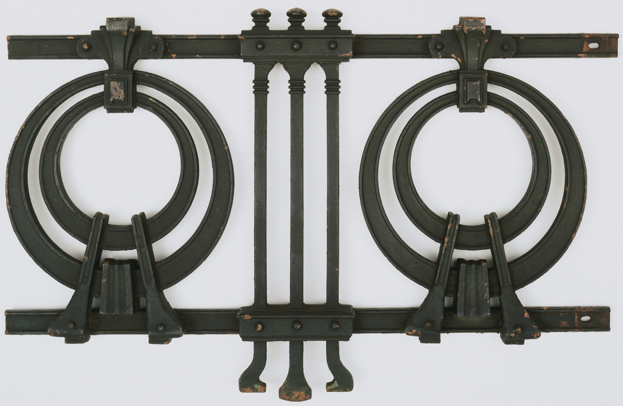 Otto Wagner. Railing. 1899