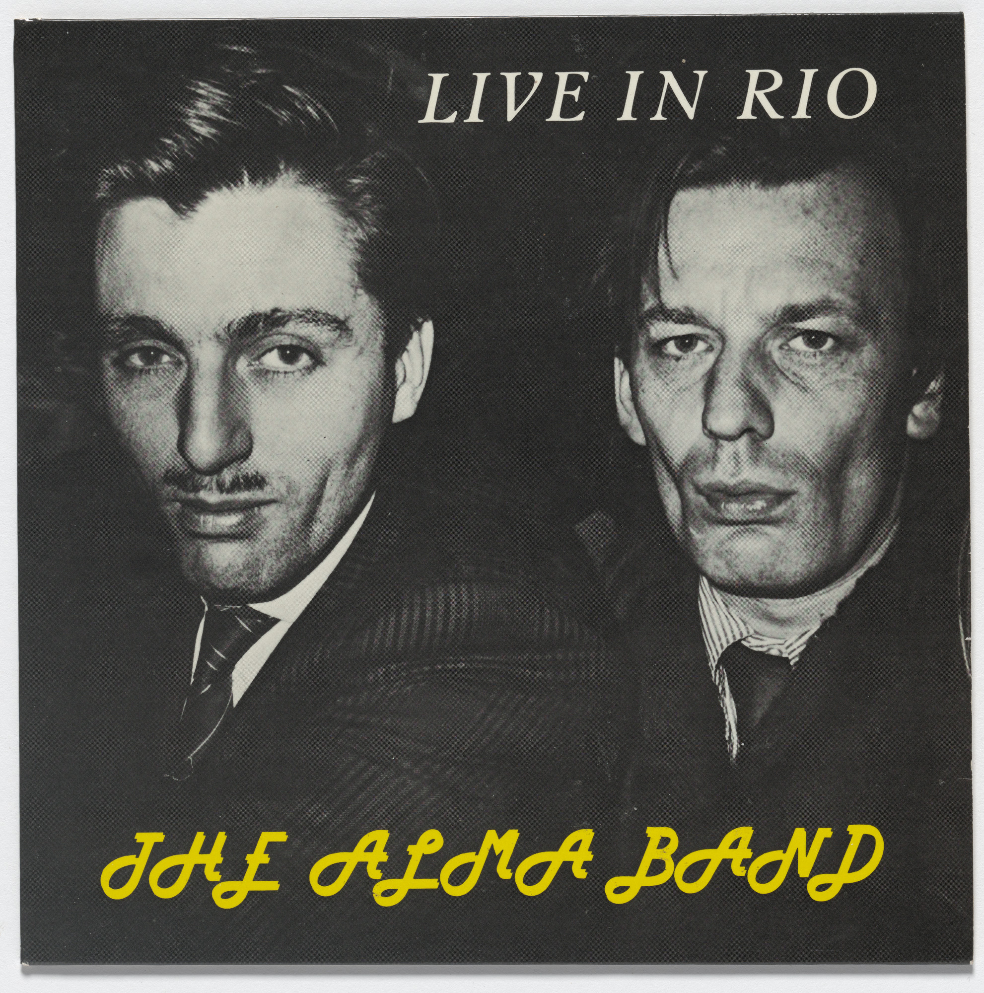 The Alma Band, Martin Kippenberger, Albert Oehlen. Live in Rio. 1986