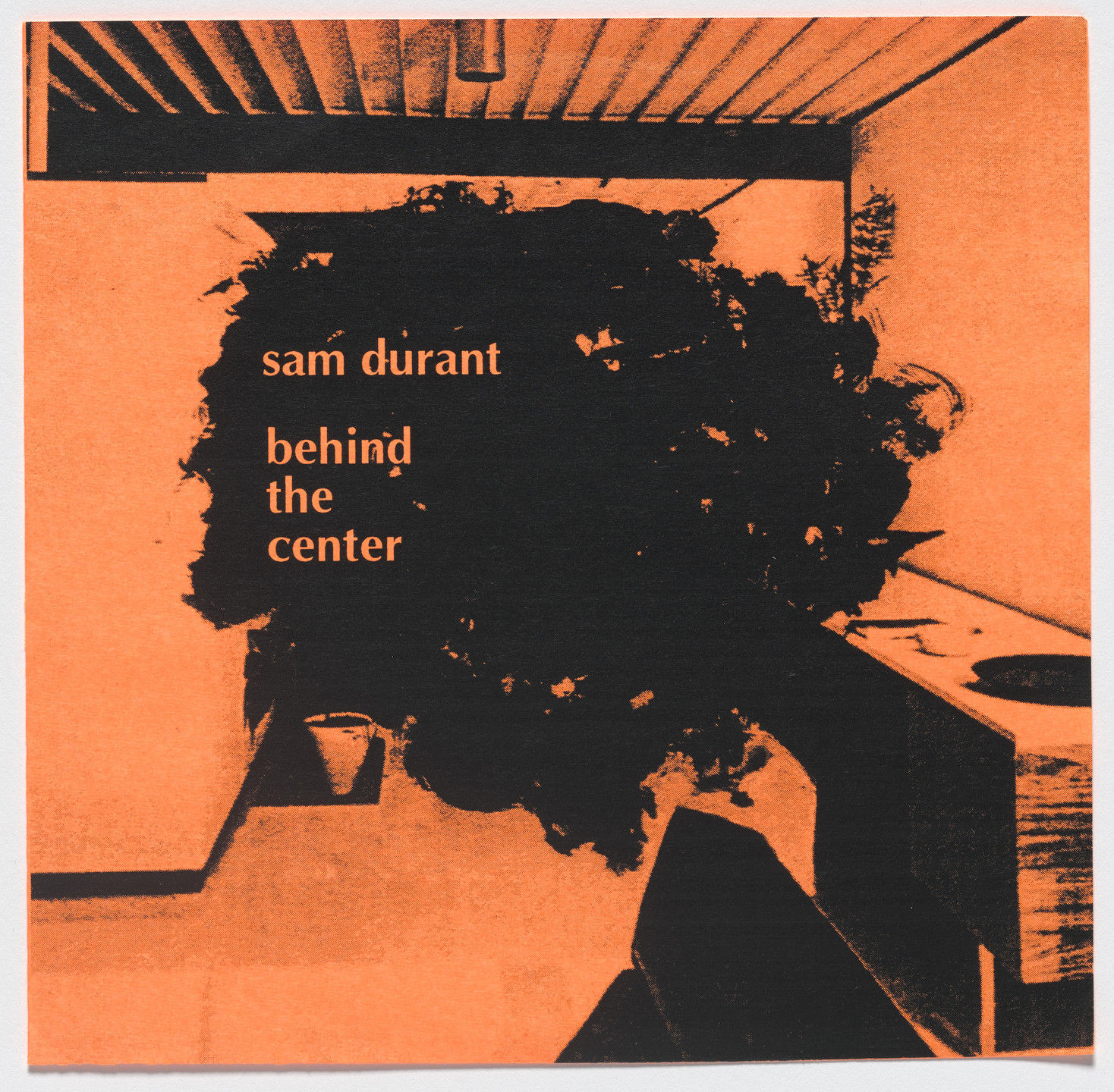 Sam Durant. Behind the Center. 1995