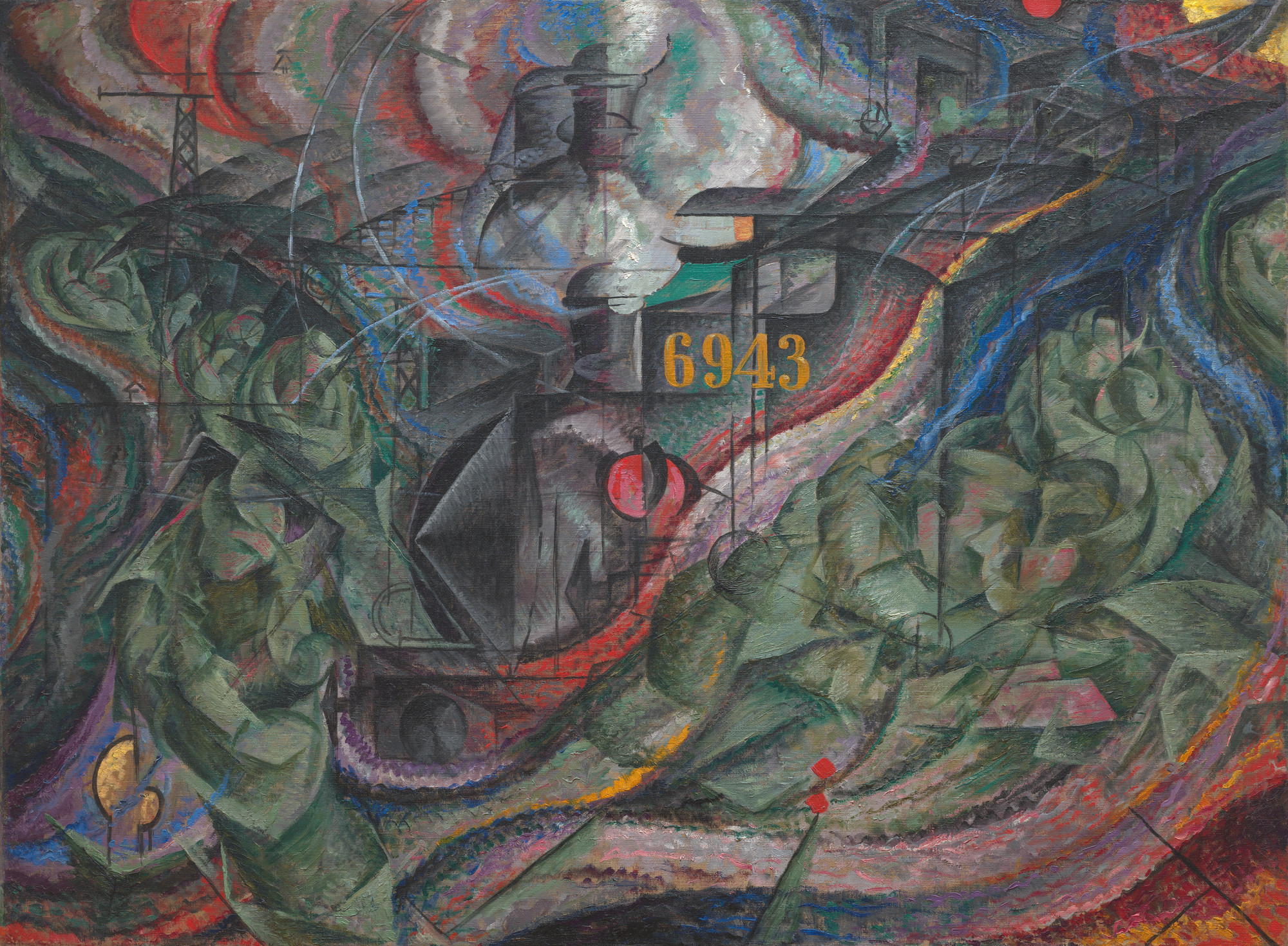 Umberto Boccioni. States of Mind I: The Farewells. 1911