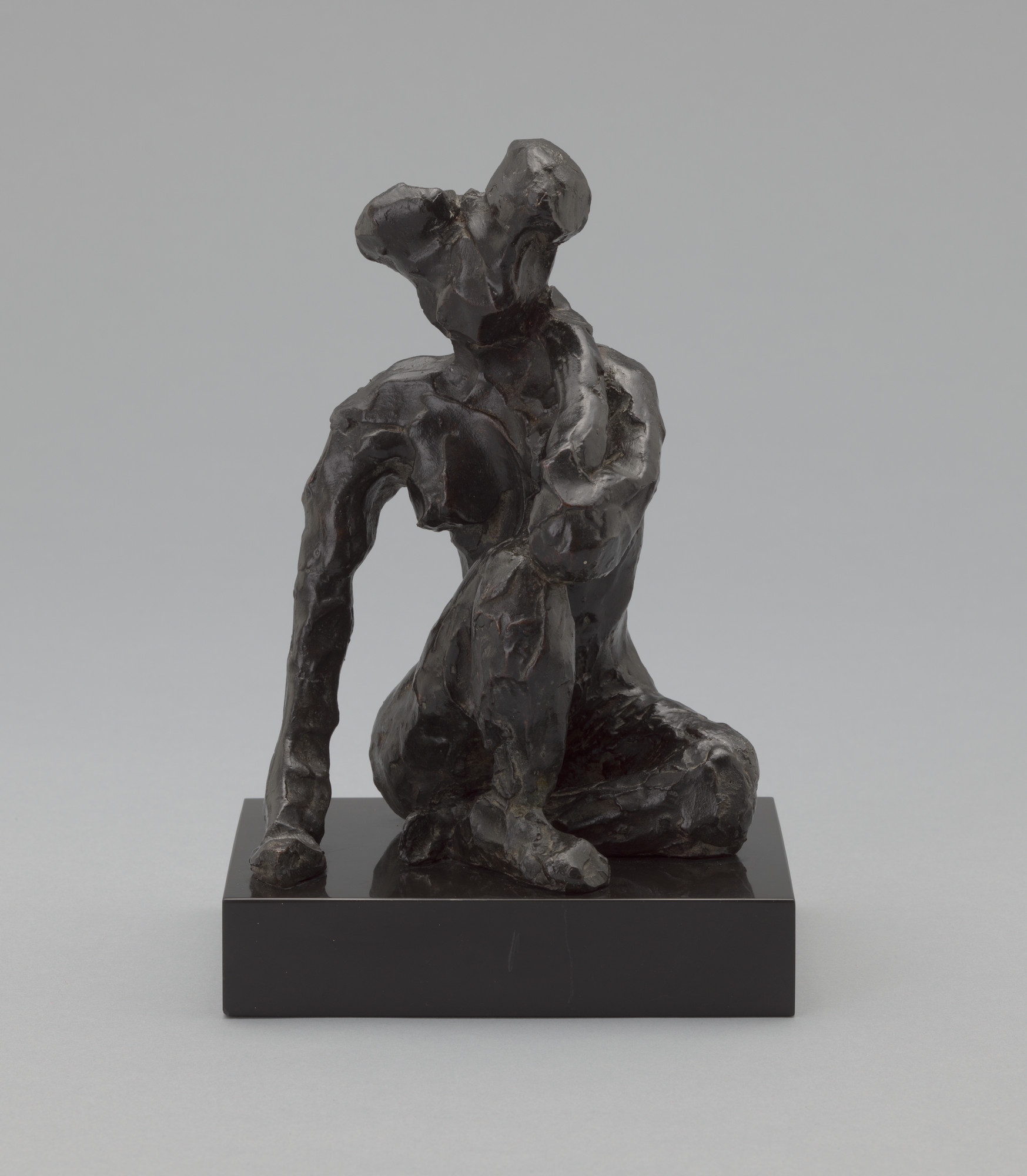 Henri Matisse. Seated Figure, Right Hand on Ground. Paris, fall 1908 (cast c. 1930)